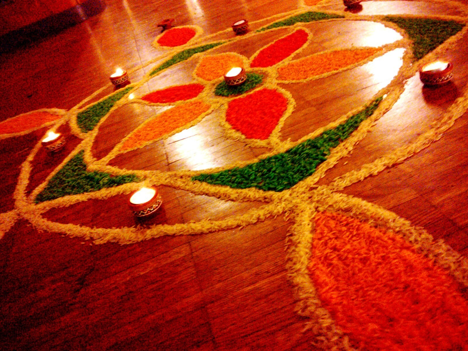 Rangoli Designs with Flowers for Diwali in India   HD ...  Diwali Rangoli Images Designs Diwali Rangoli