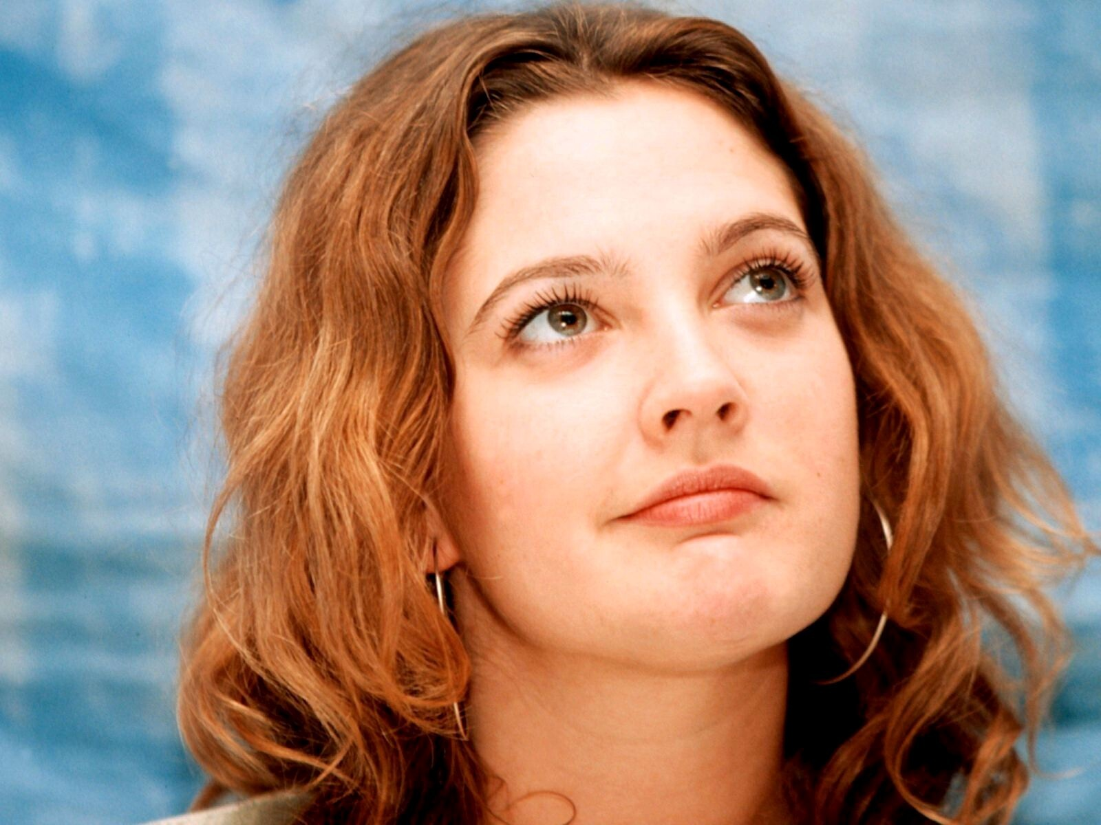 Cute Drew Barrymore Face Drew Barrymore
