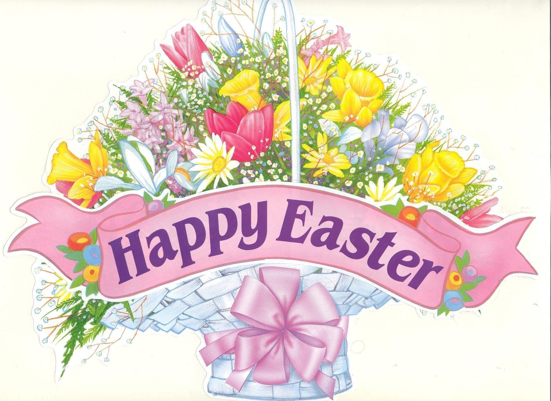 Happy easter flower poat hd wallpapers - Christian easter images free ...