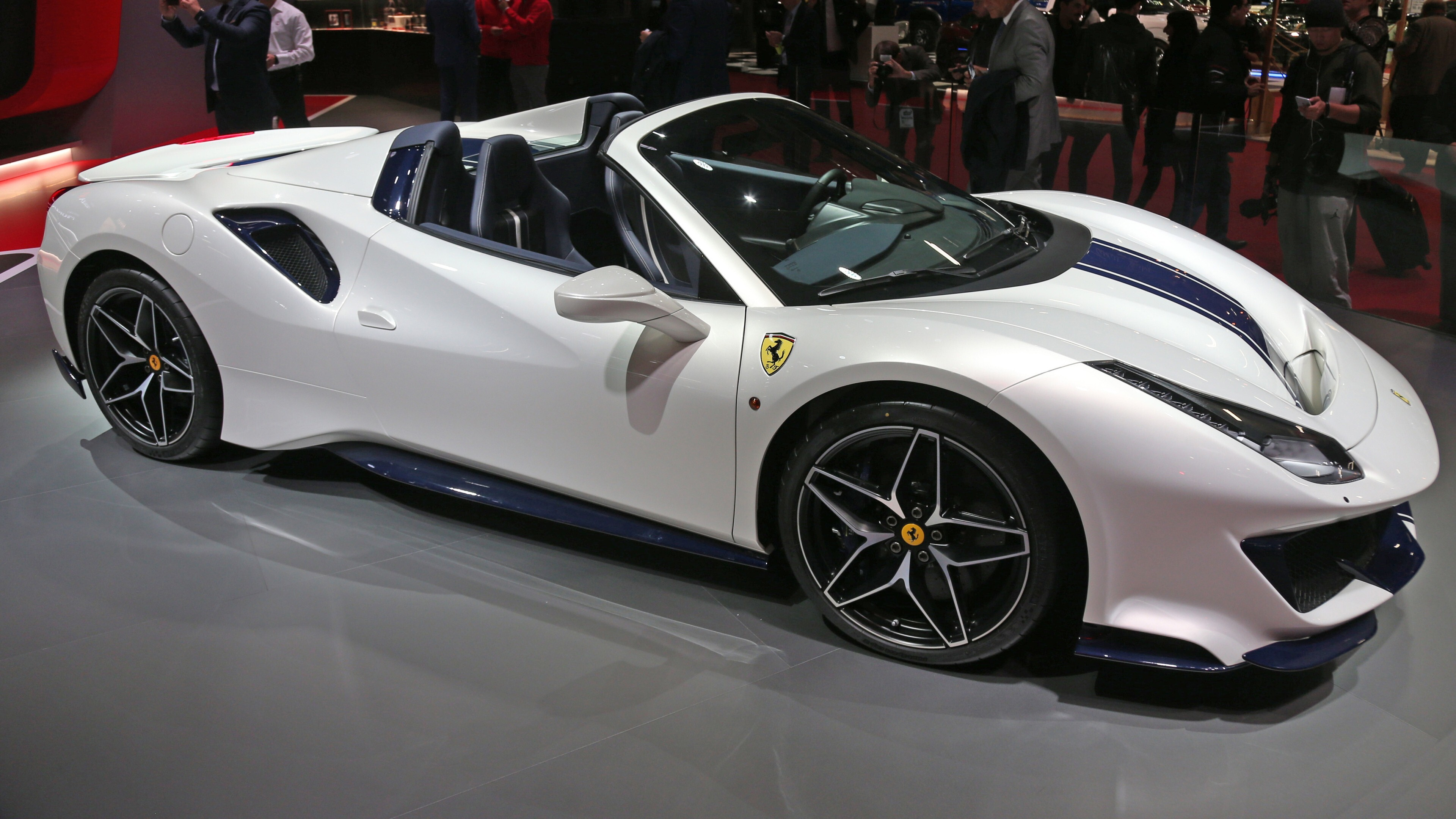 2019 Ferrari 488 Pista Spider 4k Car Hd Wallpapers