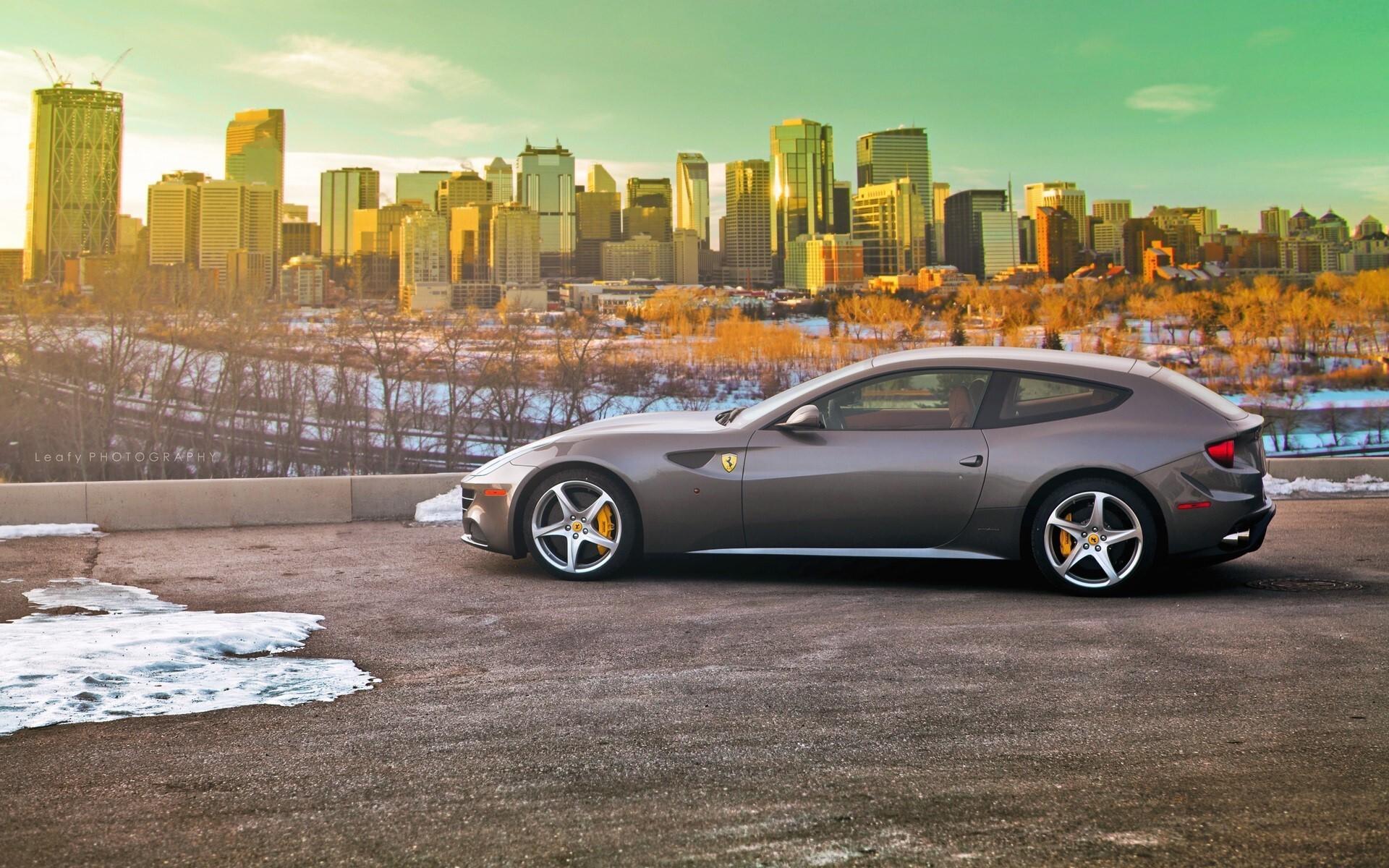 Beautiful Car Ferrari Ff Wallpapers Hd Wallpapers