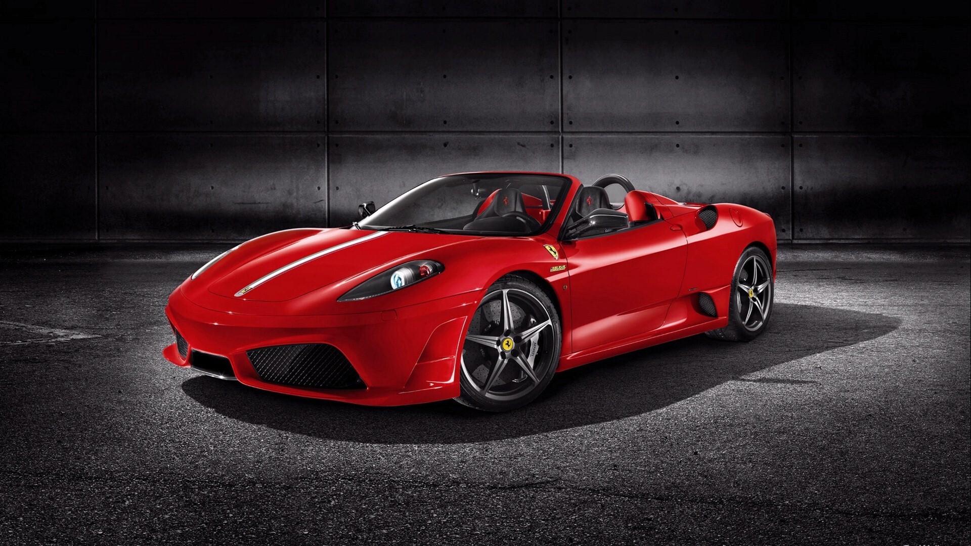 Ferrari Spider Beautiful Luxury Car Hd Wallpapers Background Hd