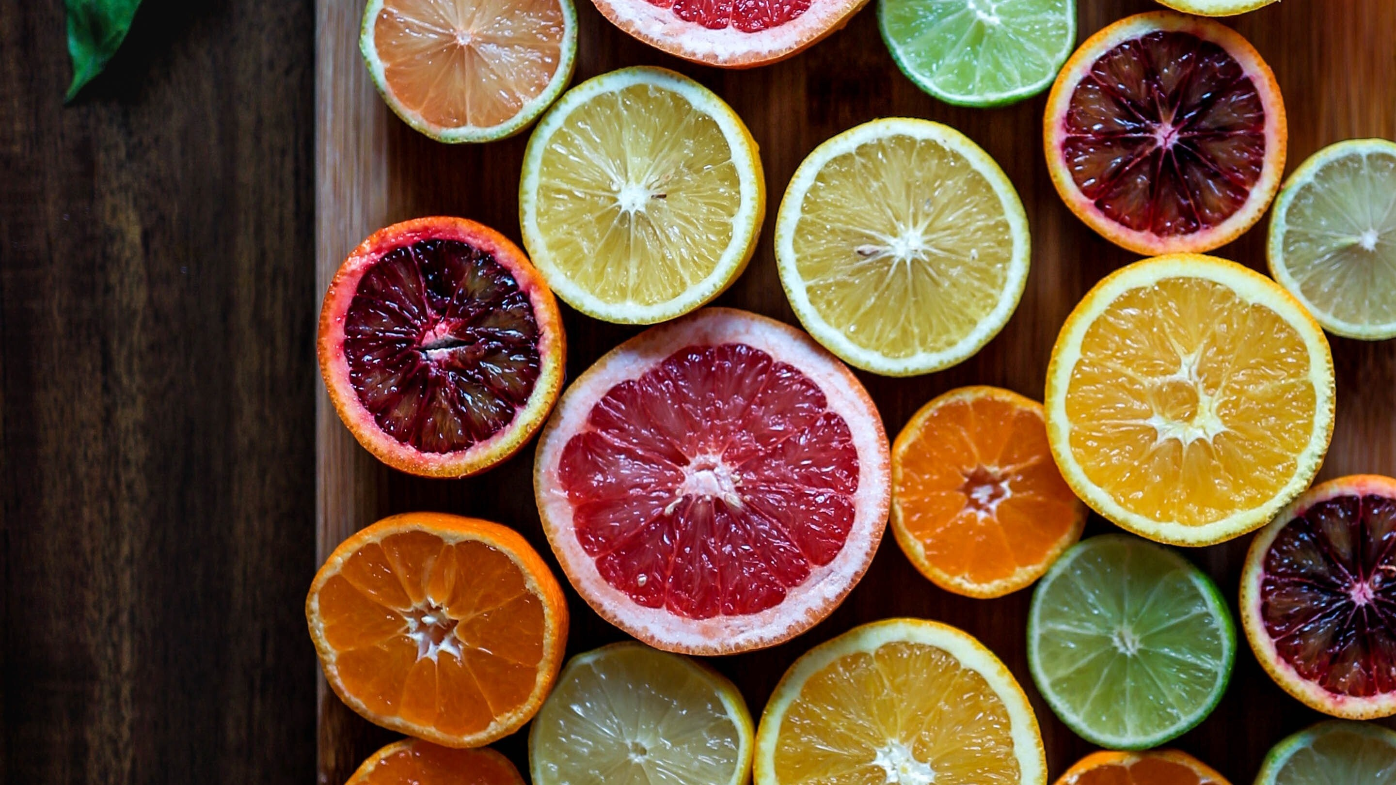 Colorful Food Wallpaper Free Download: Exotic Colorful Fruit On Table HD Photo