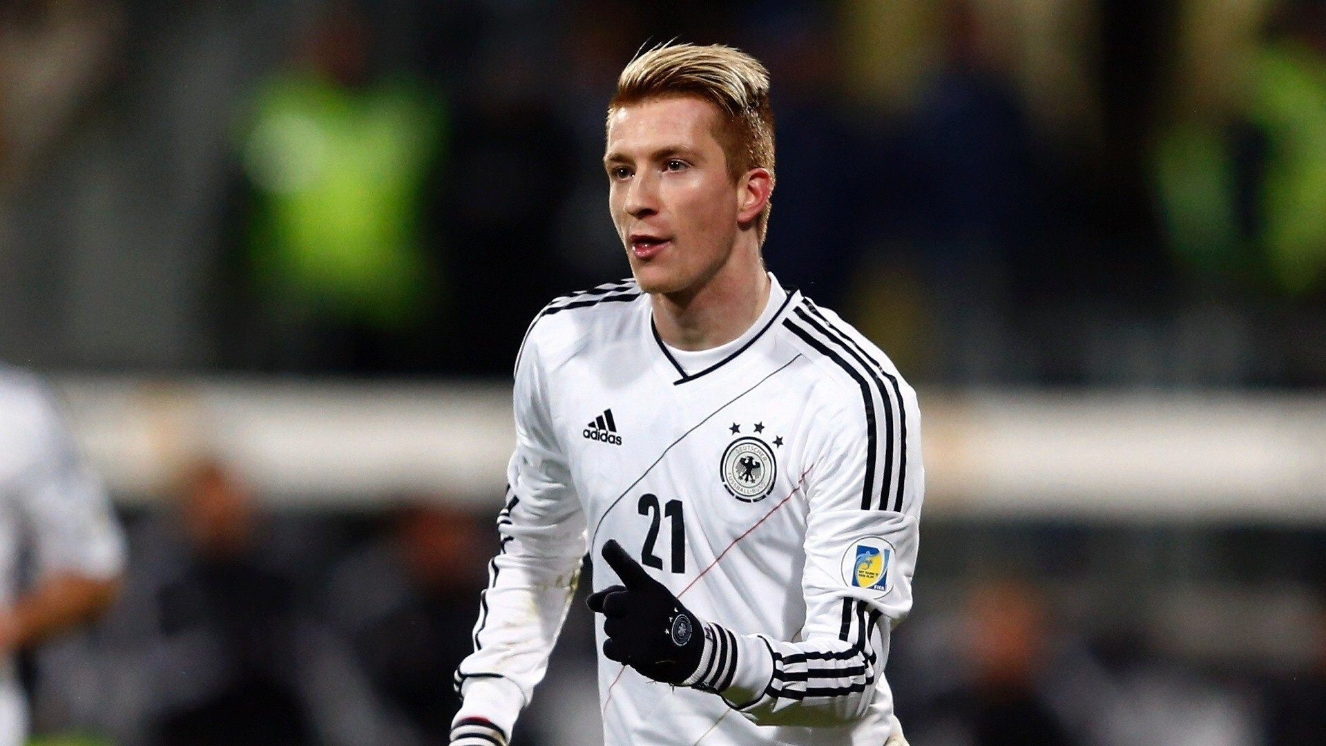 size 40 29509 2f865 Germany Football Player Marco Reus in Soccer World Cup 2014 ...