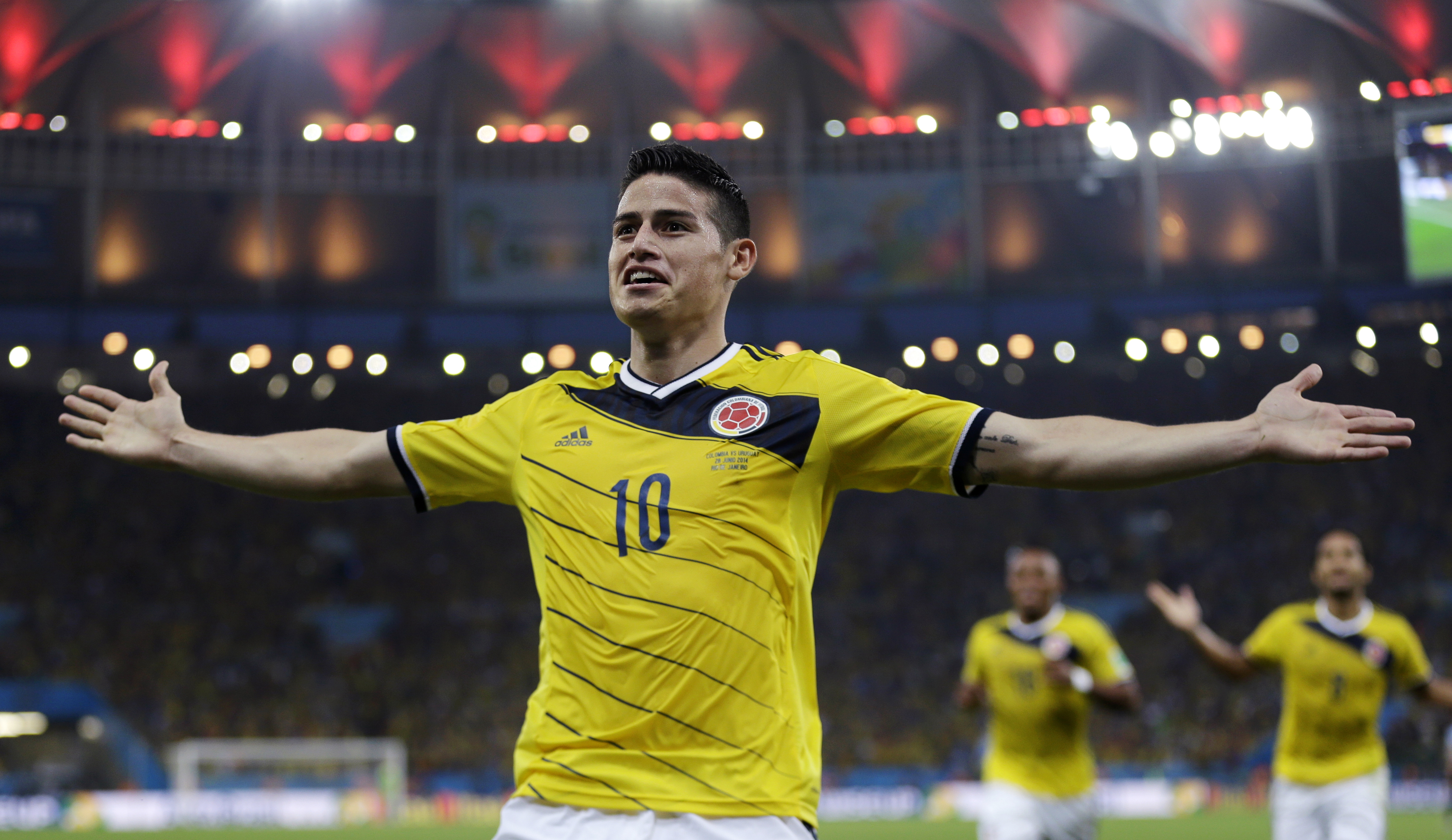 James Rodriguez Famous Football Player 4K Wallpapers