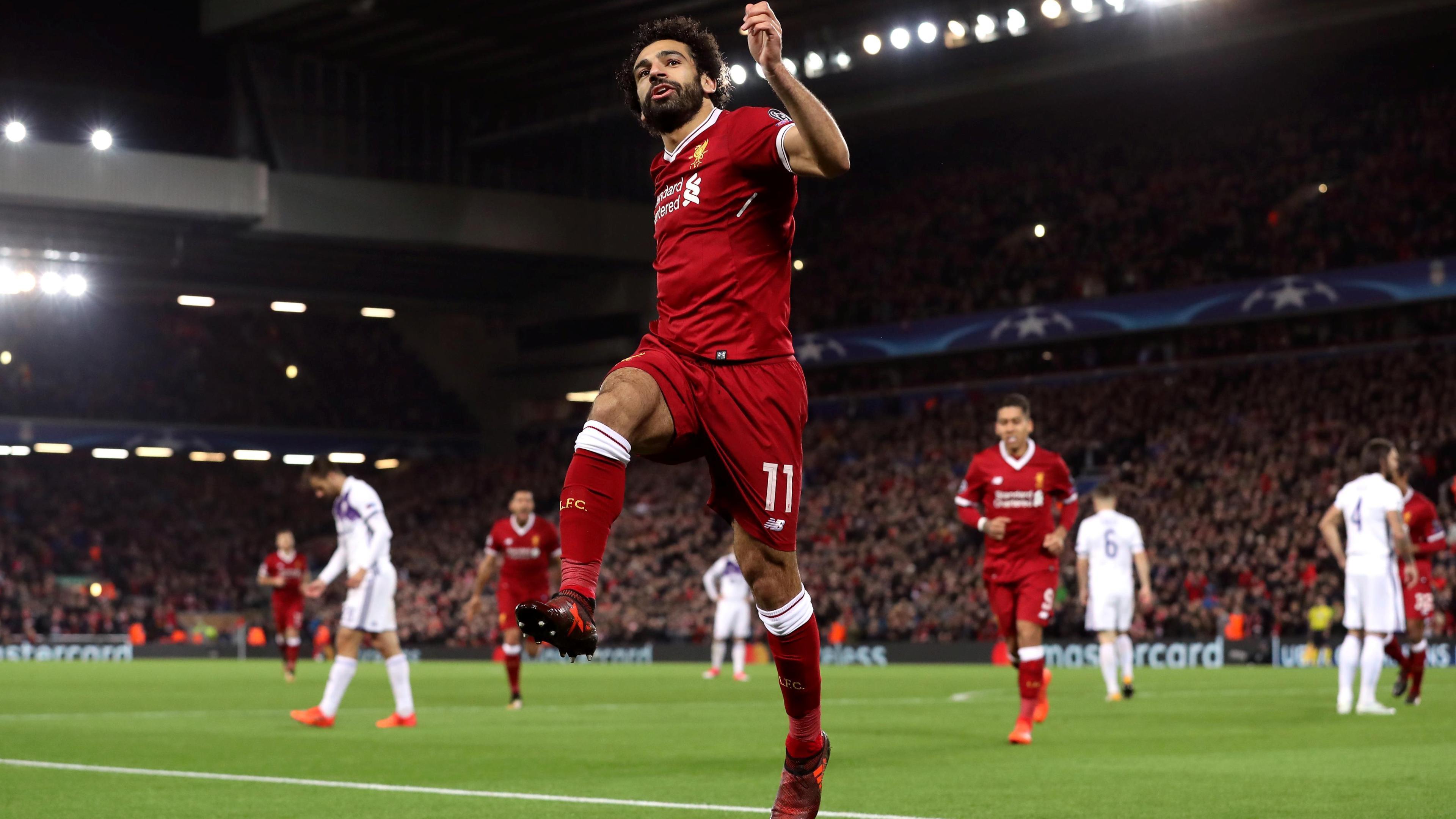 Mohamed Salah Egyptian Footballer FIFA World Cup 2018 4K