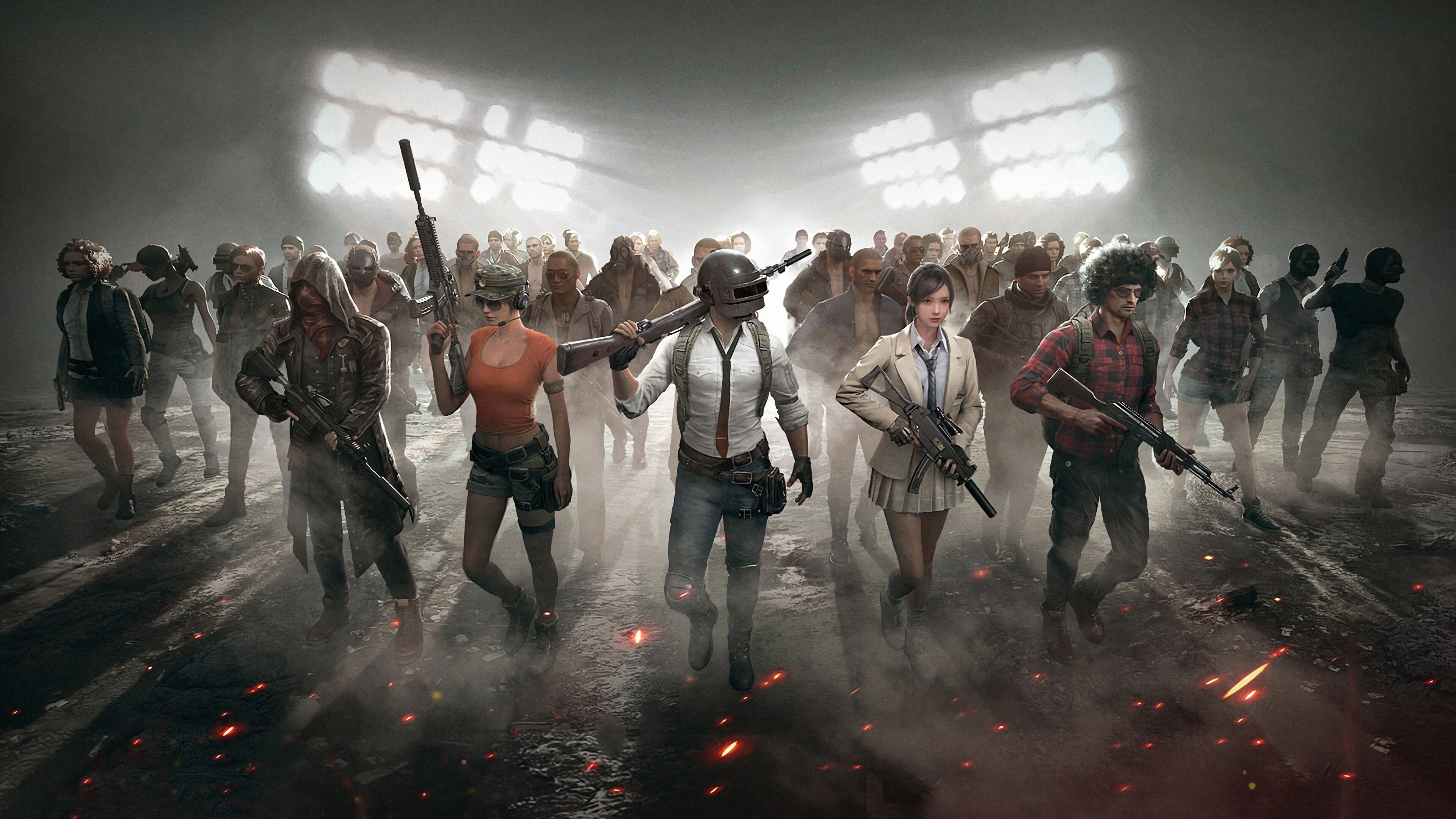 Pubg Game Hd Wallpaper Download: Characters Of PUBG Game