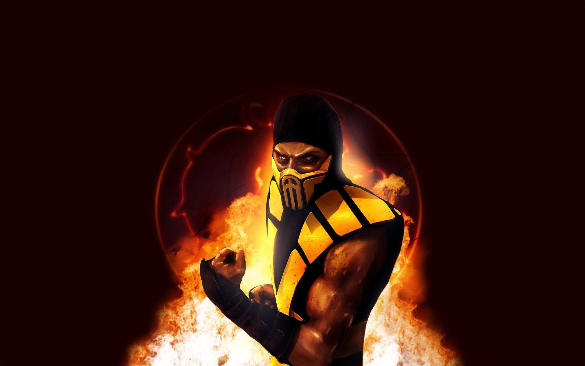 Scorpion Mortal Kombat Character Wallpapers Hd Wallpapers