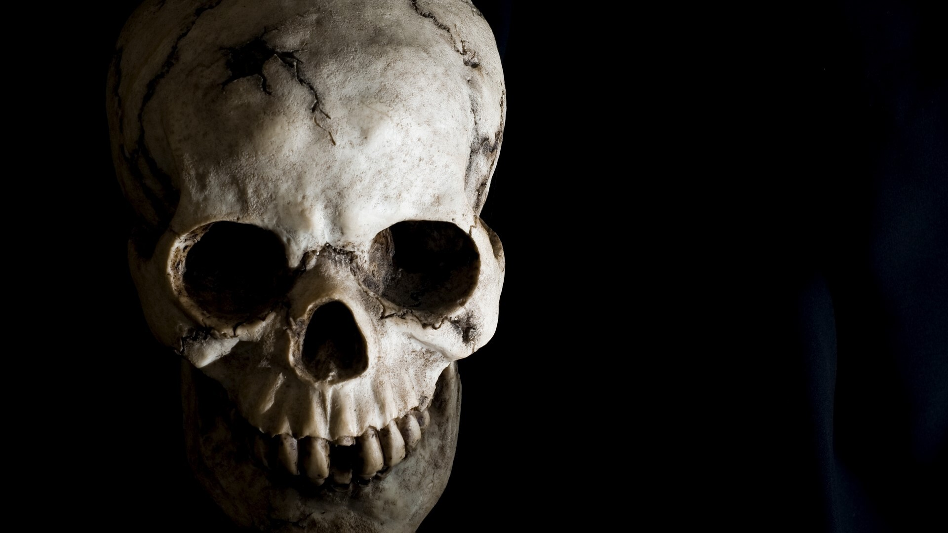 Skull horror hd desktop background wallpaper hd wallpapers - Devil skull wallpaper ...
