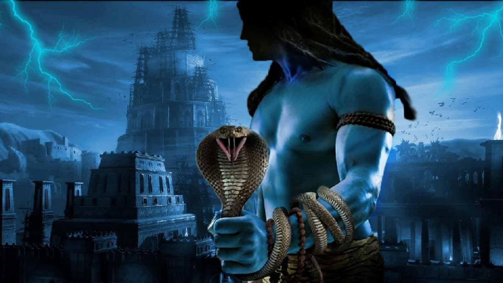 Amazing Lord Shiva Wallpapers: God Shiva Amazing Wallpaper