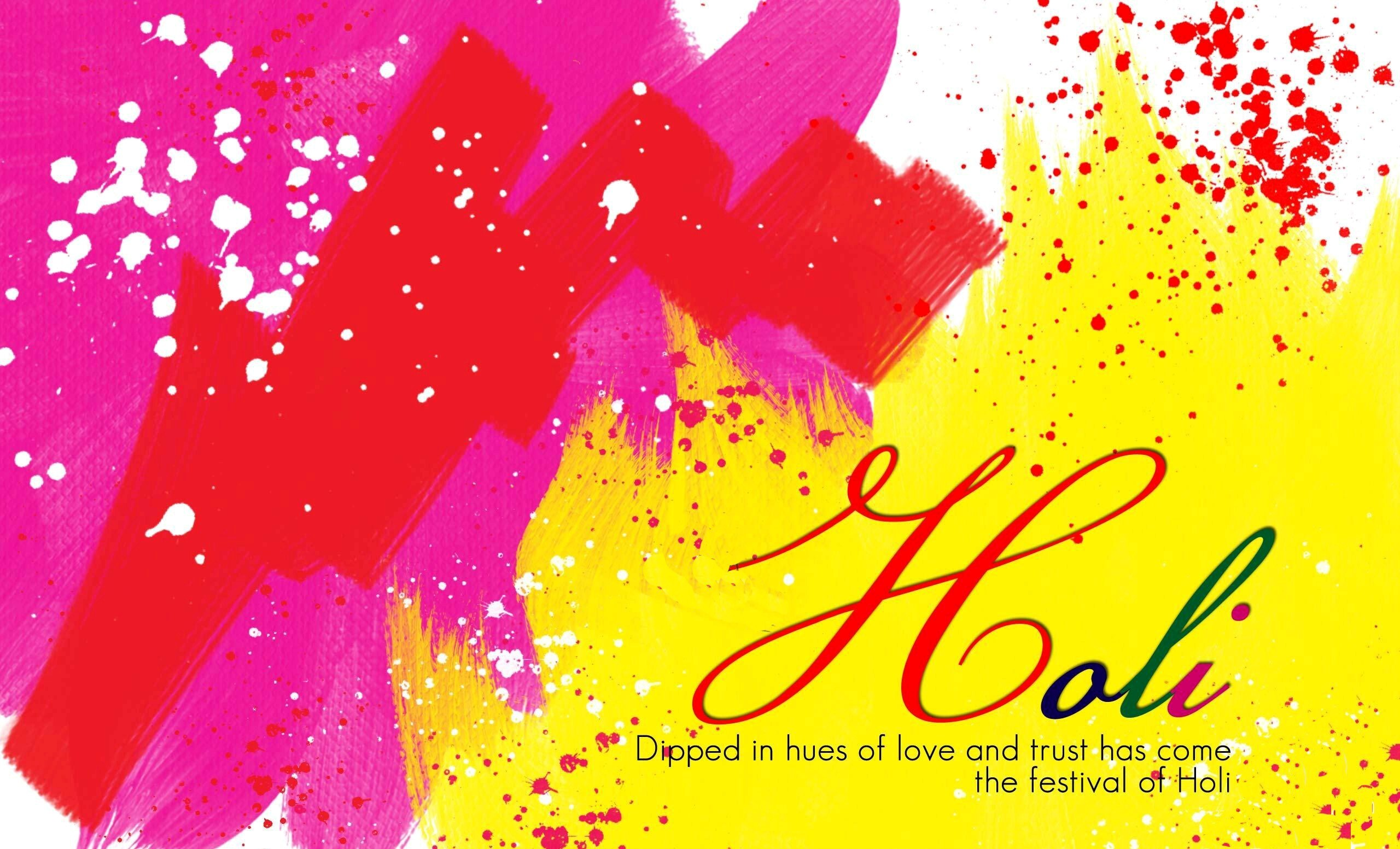Holi Greetings Wallpapers Hd Wallpapers