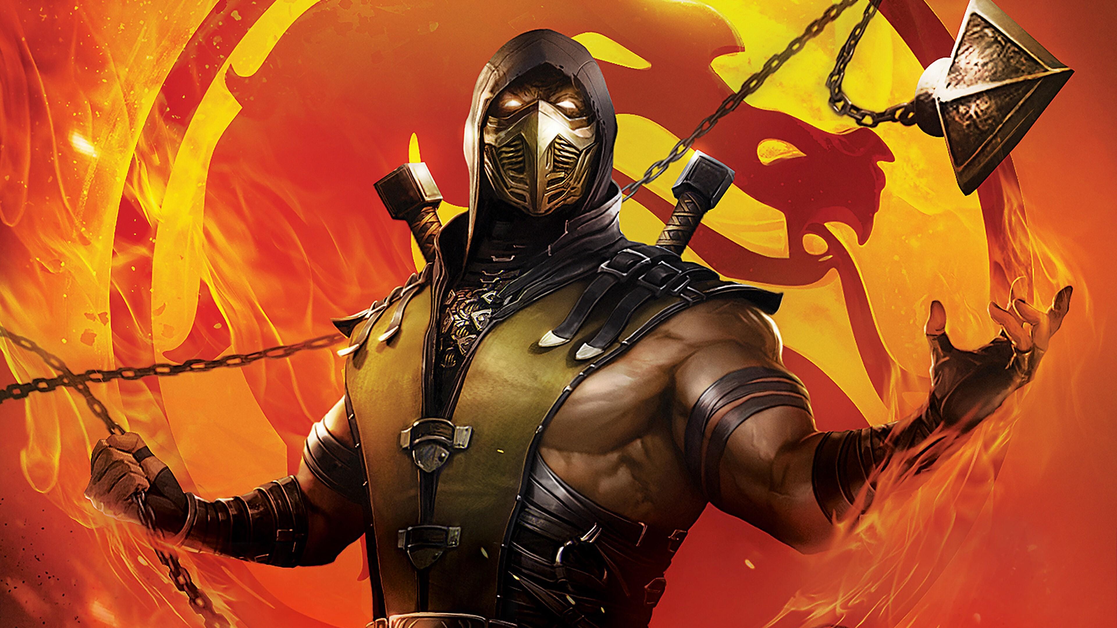 Mortal Kombat Legends Scorpions Revenge 4k Wallpaper Hd Wallpapers