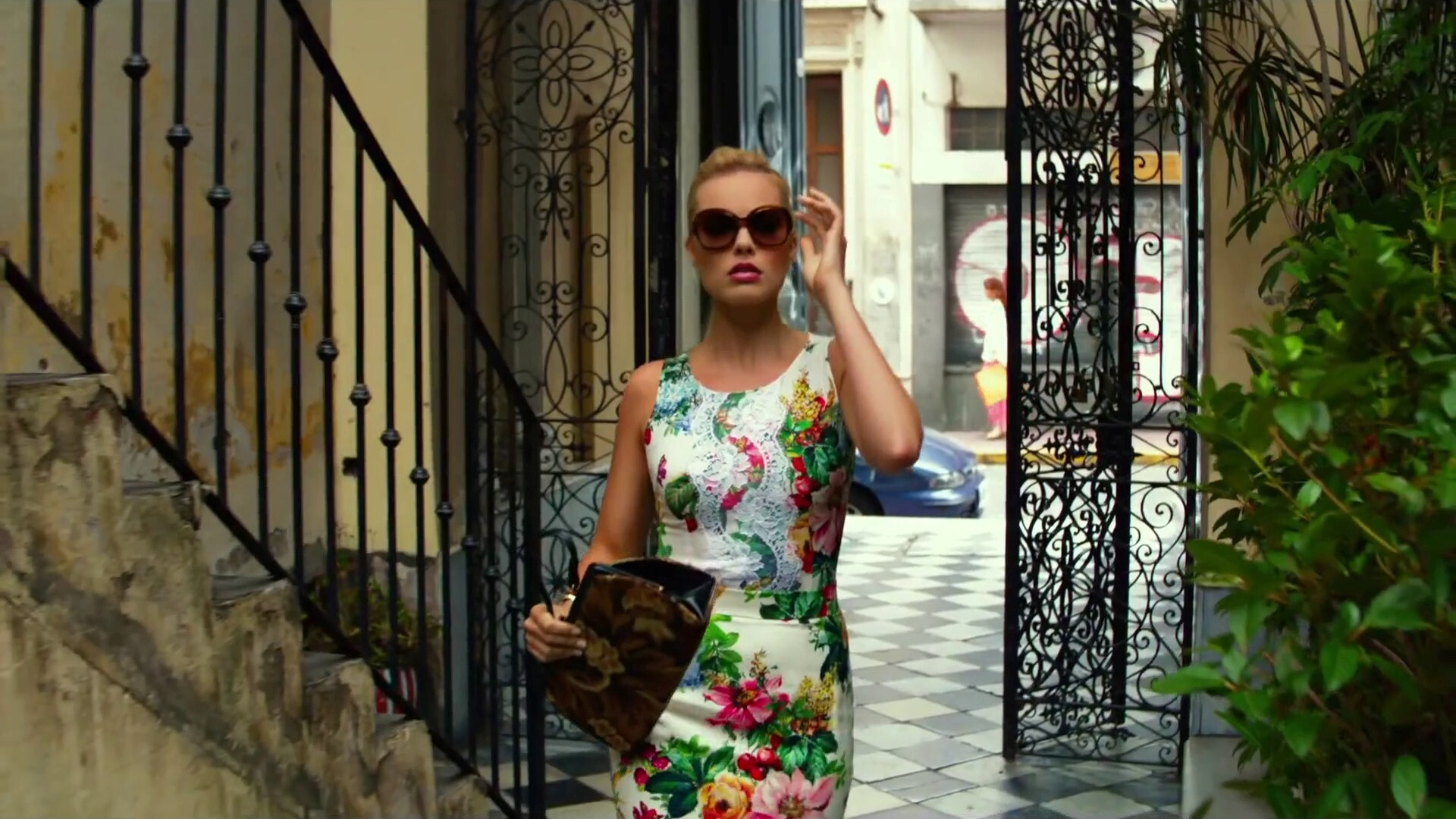 New Actress Margot Robbie In Hollywood Movie Focus Hd Wallpaper Hd