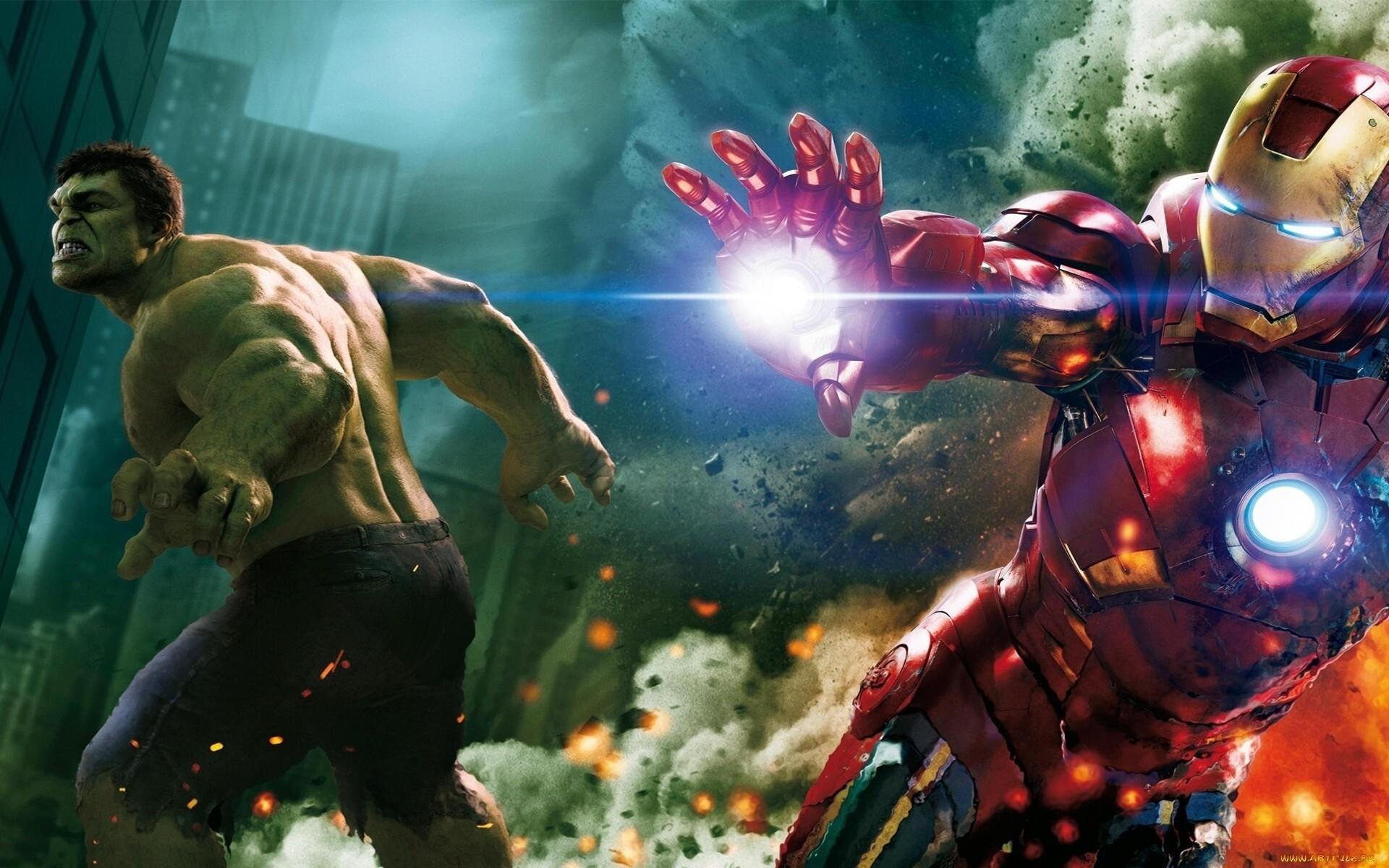 Iron man in latest hulk movie