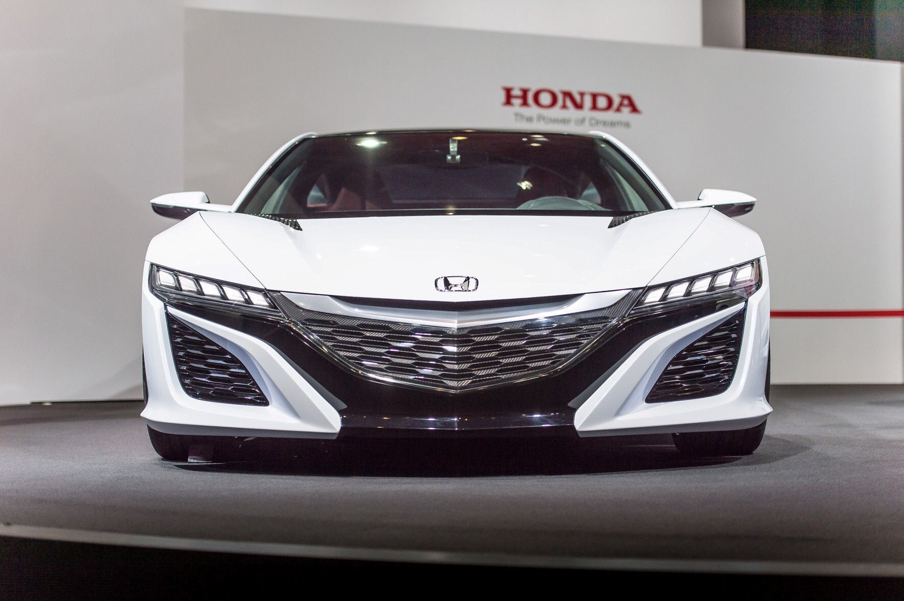 Honda Nsx Concept White Car Photo Hd Wallpapers