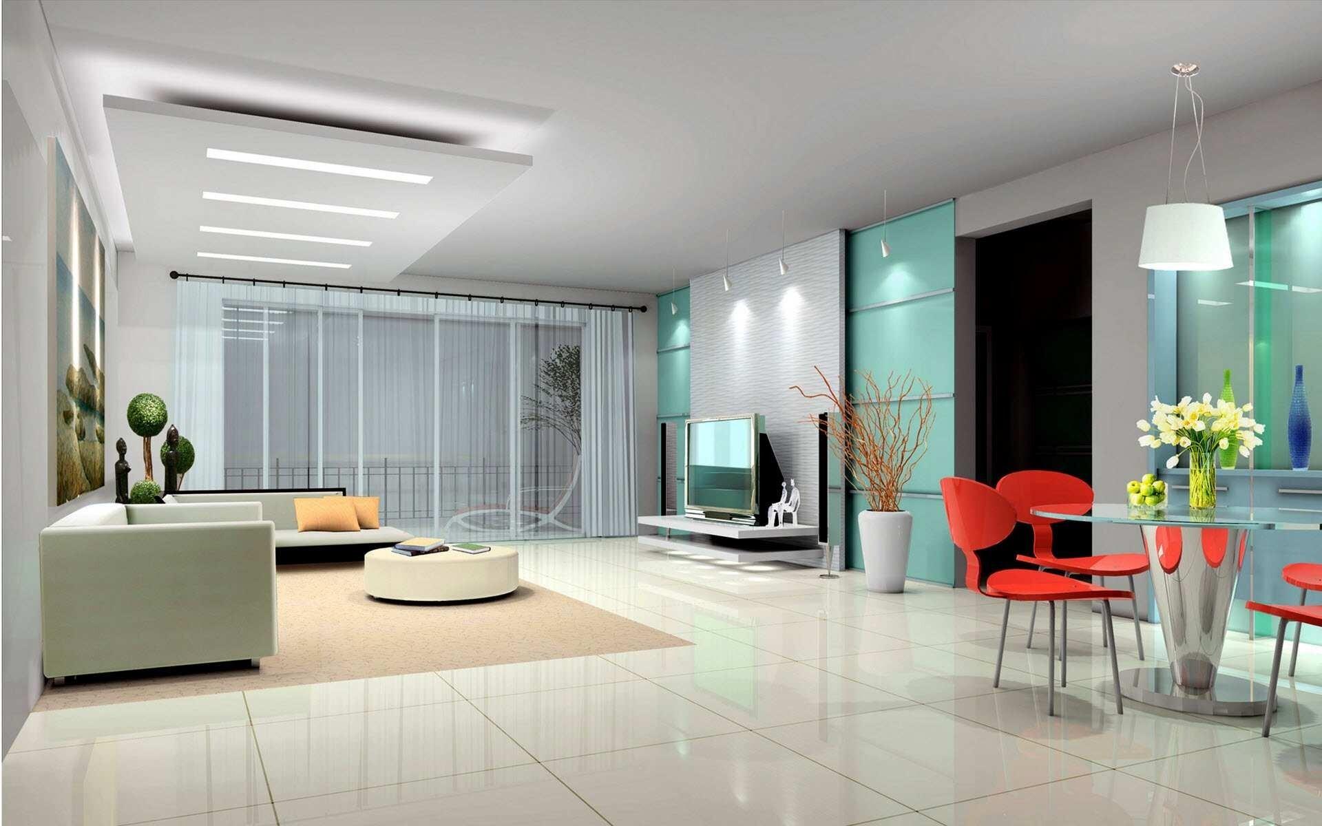 Amazing Home Interior Design Wallpaper HD Wallpapers - Bungalow house interior design