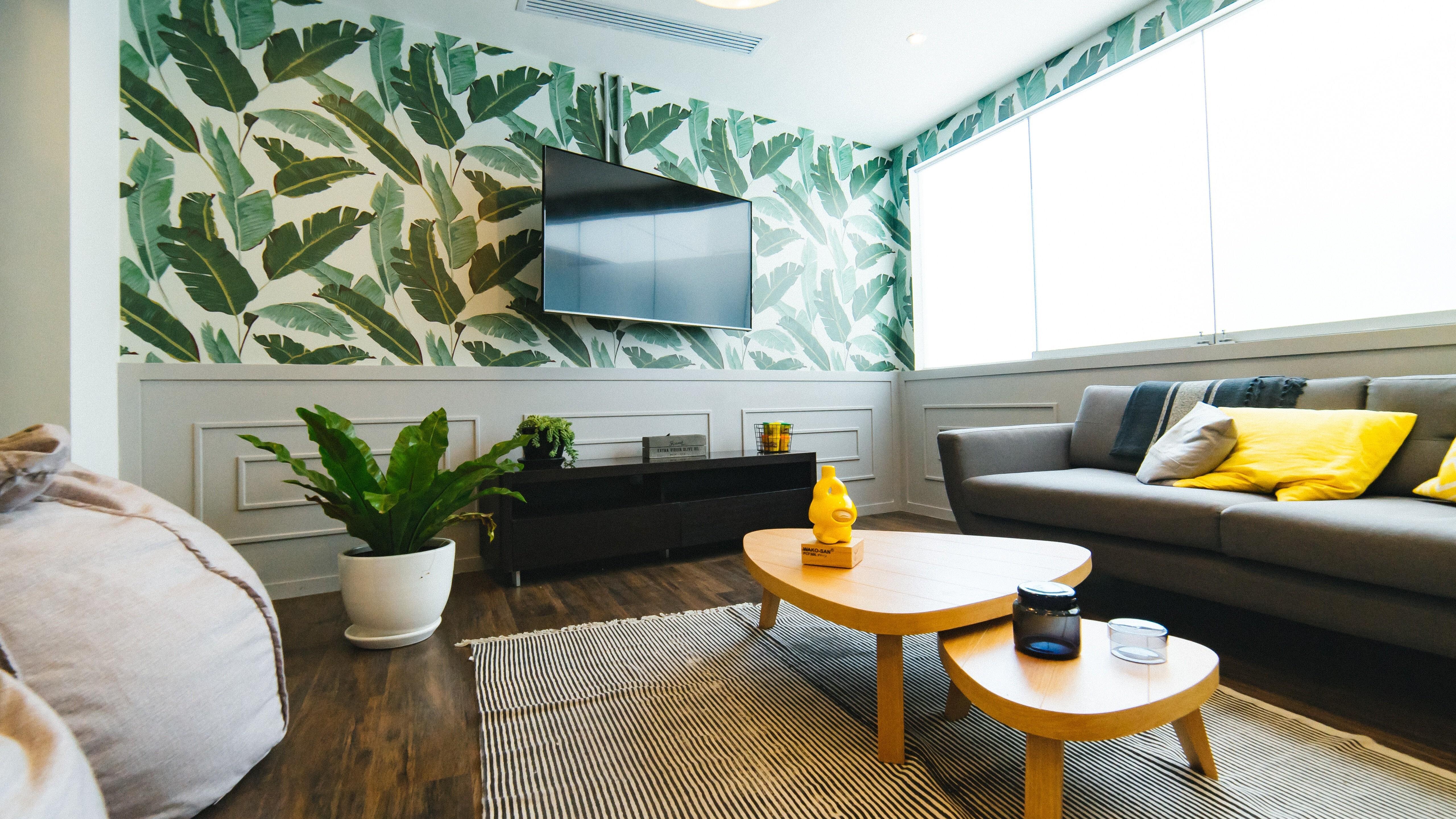 interior wallpaper for home