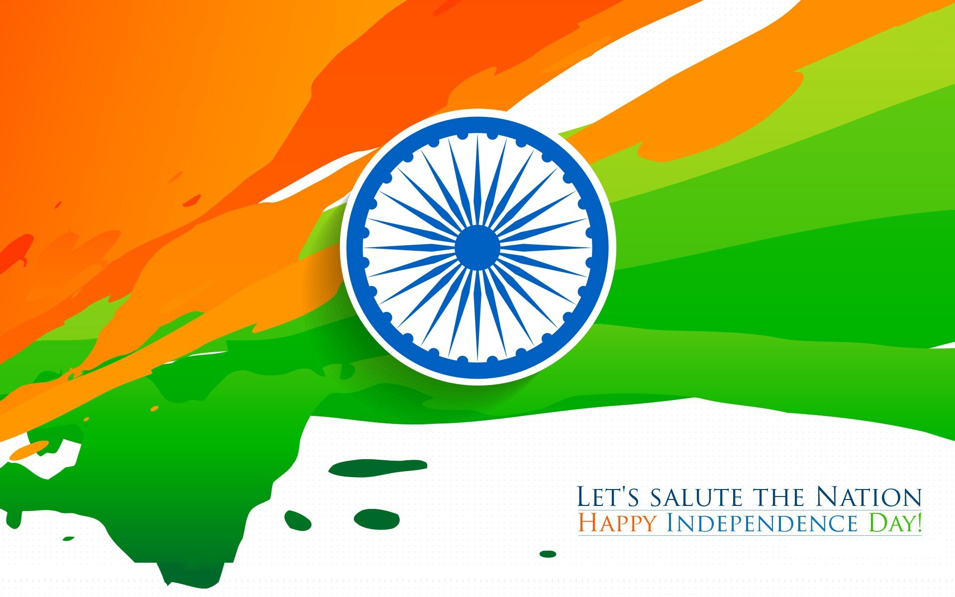Happy Independence Day Indian Flag Tricolor Hd Wallpaper Hd Wallpapers