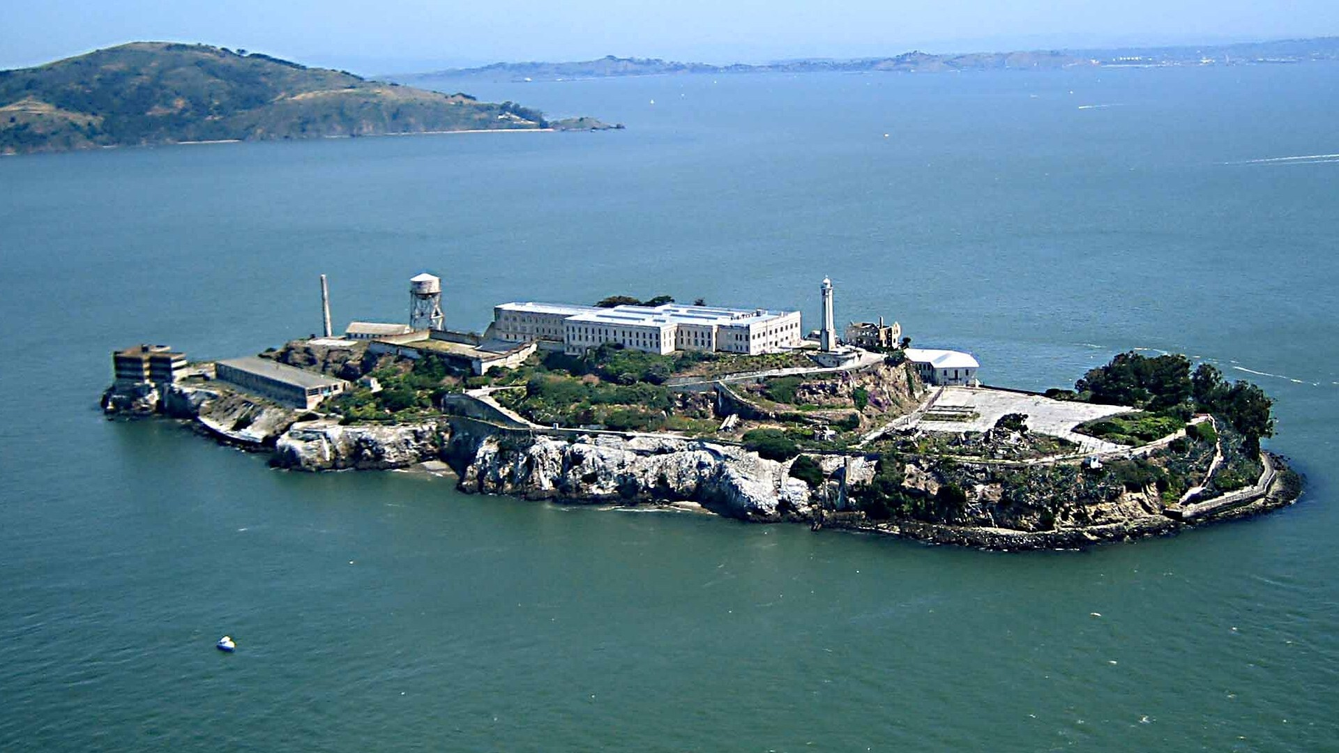 alcatraz island in san francisco california us points of interest hd
