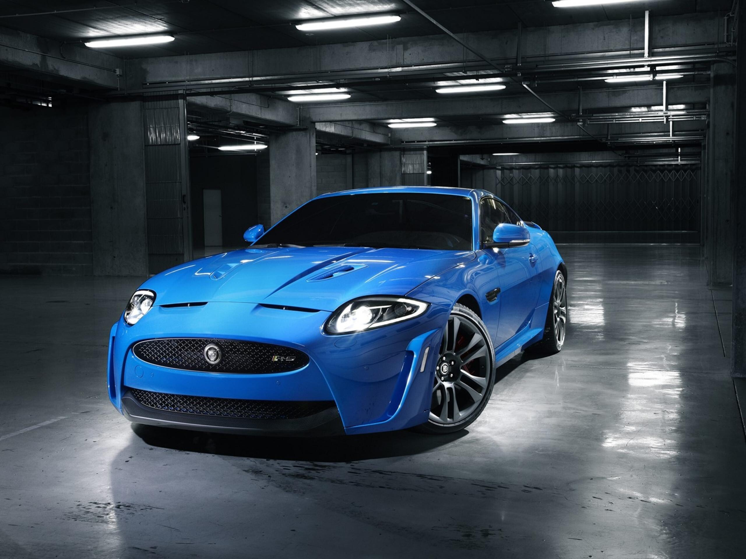 Jaguar cars blue - photo#22