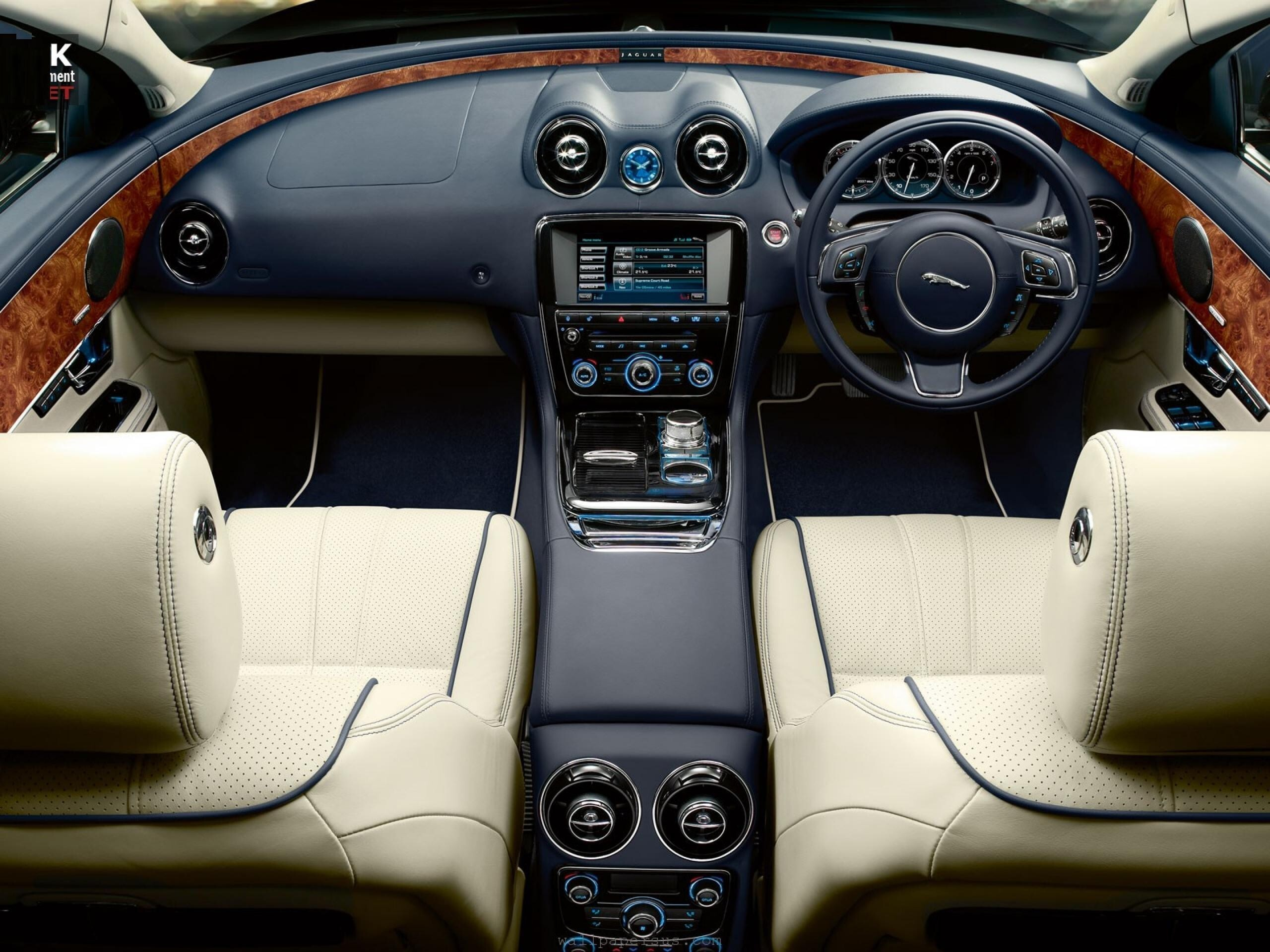 car jaguar xj interior hd wallpapers. Black Bedroom Furniture Sets. Home Design Ideas