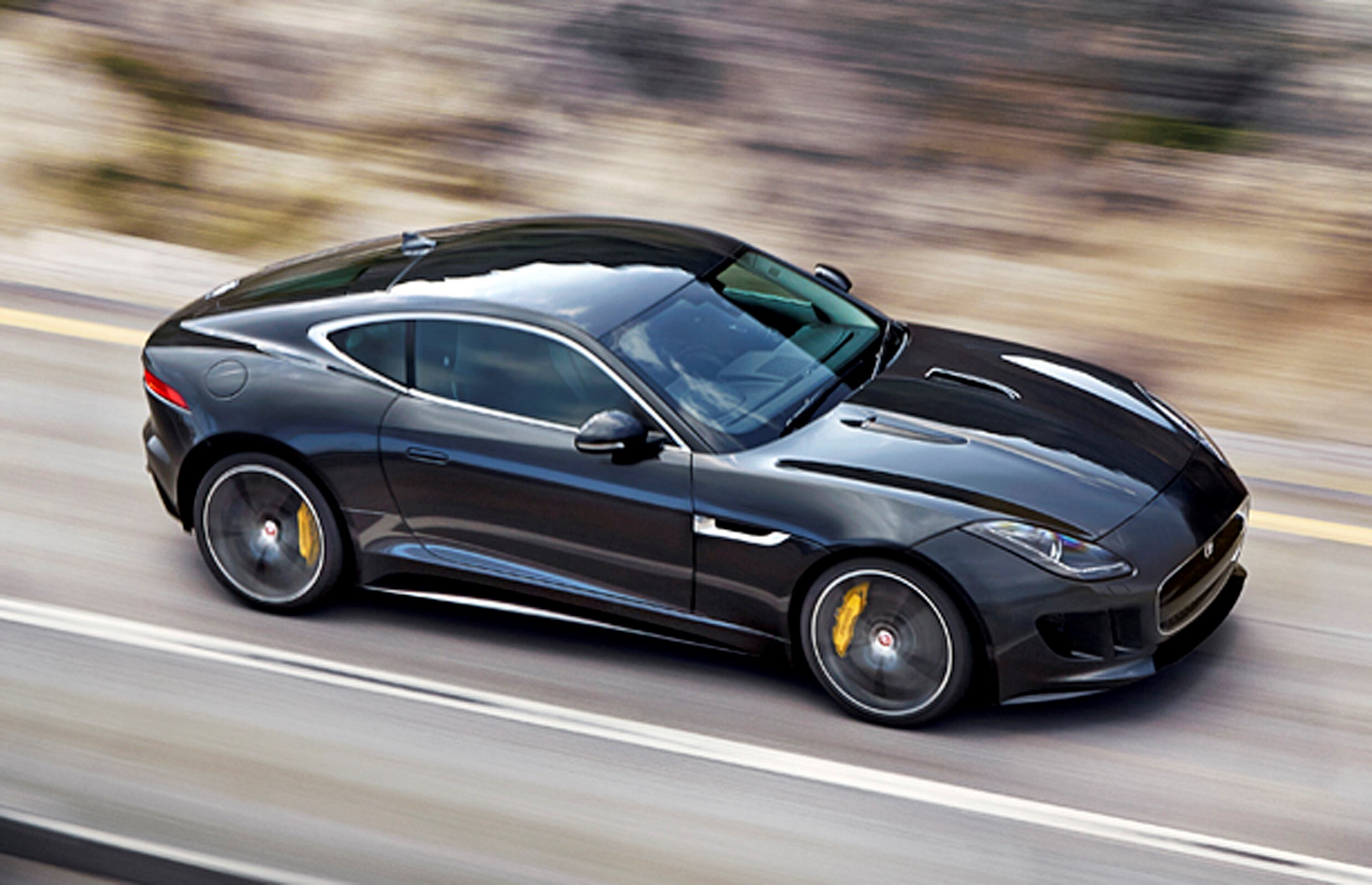 Latest Super 2013 Jaguar Xkr S Black Luxury Car On Road Wallpapers