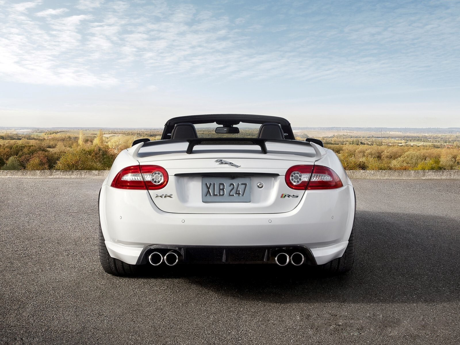 new latest 2013 jaguar xkr s back side rear view of car wallpapers