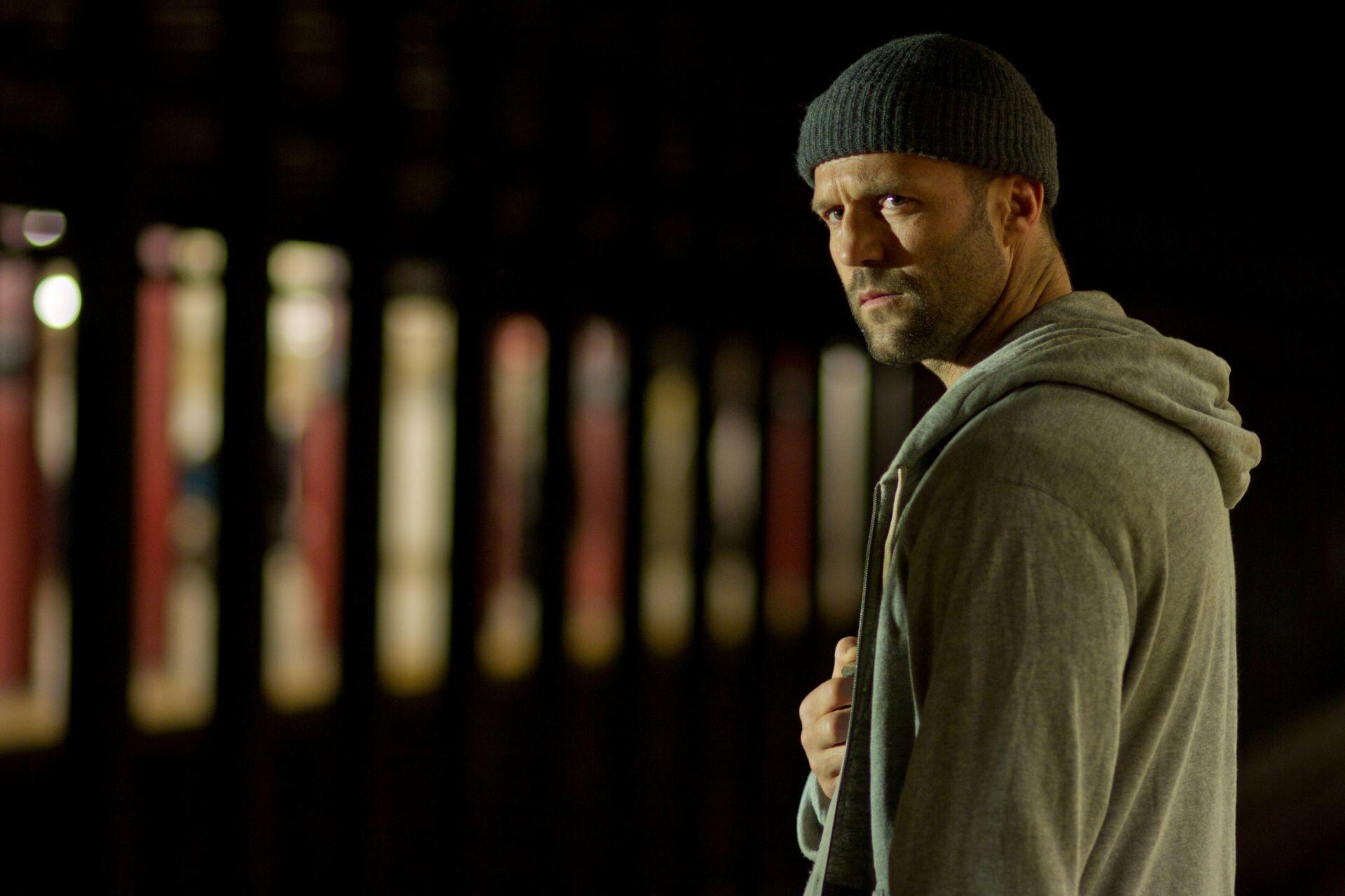 Jason Statham in Movie Scene Photo