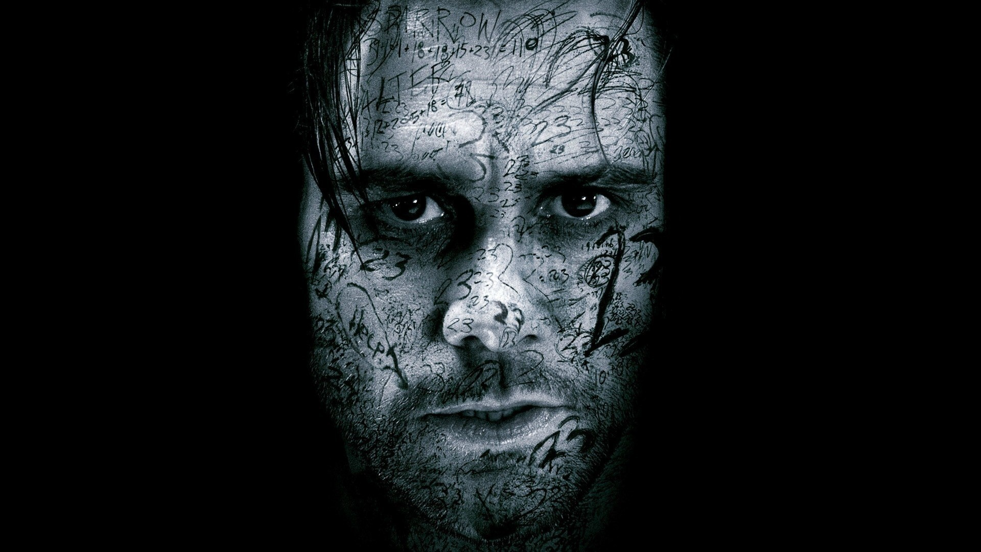 Ghost Face of Jim Carrey in Black Background | HD Wallpapers