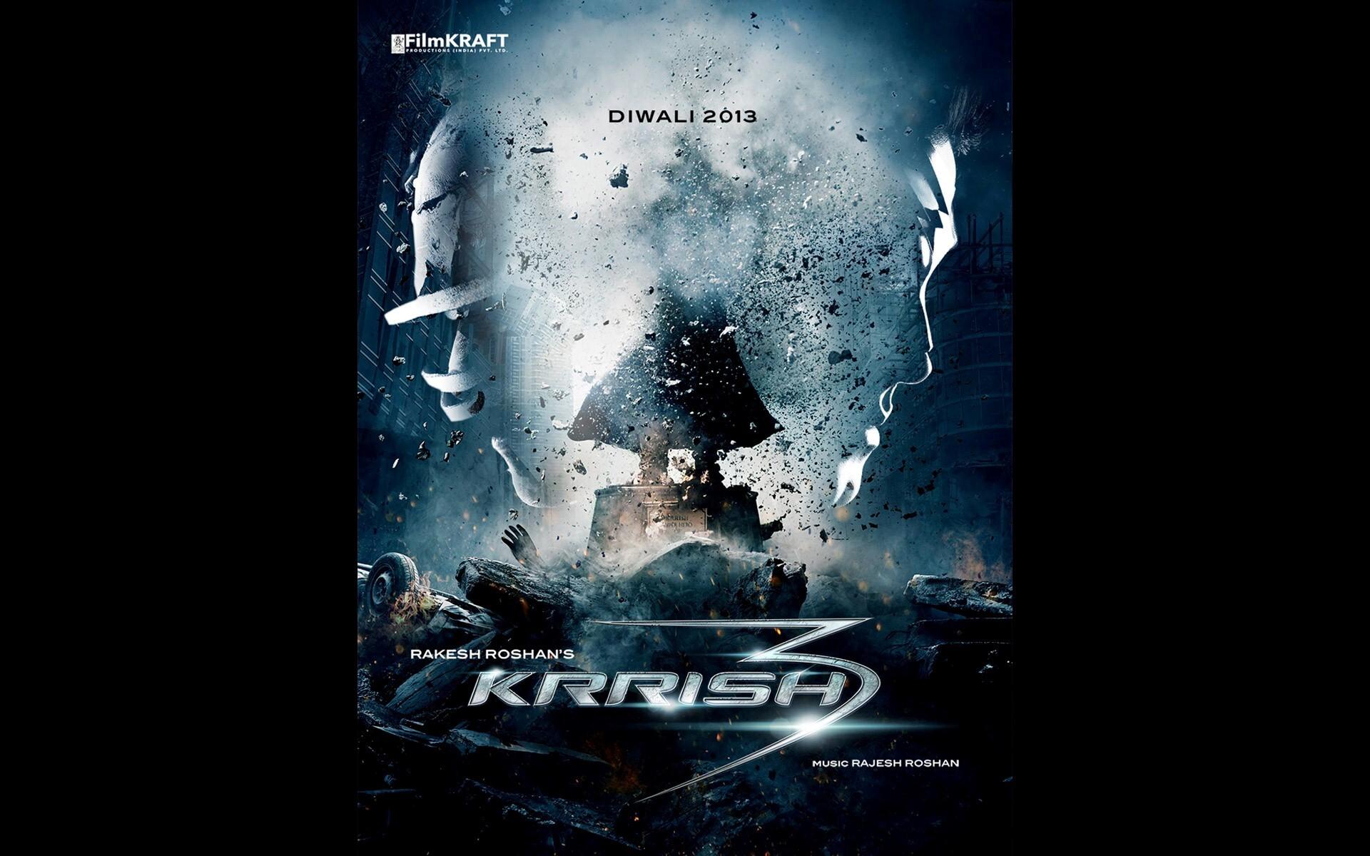 Album Poster Image of Movie Krrish 3