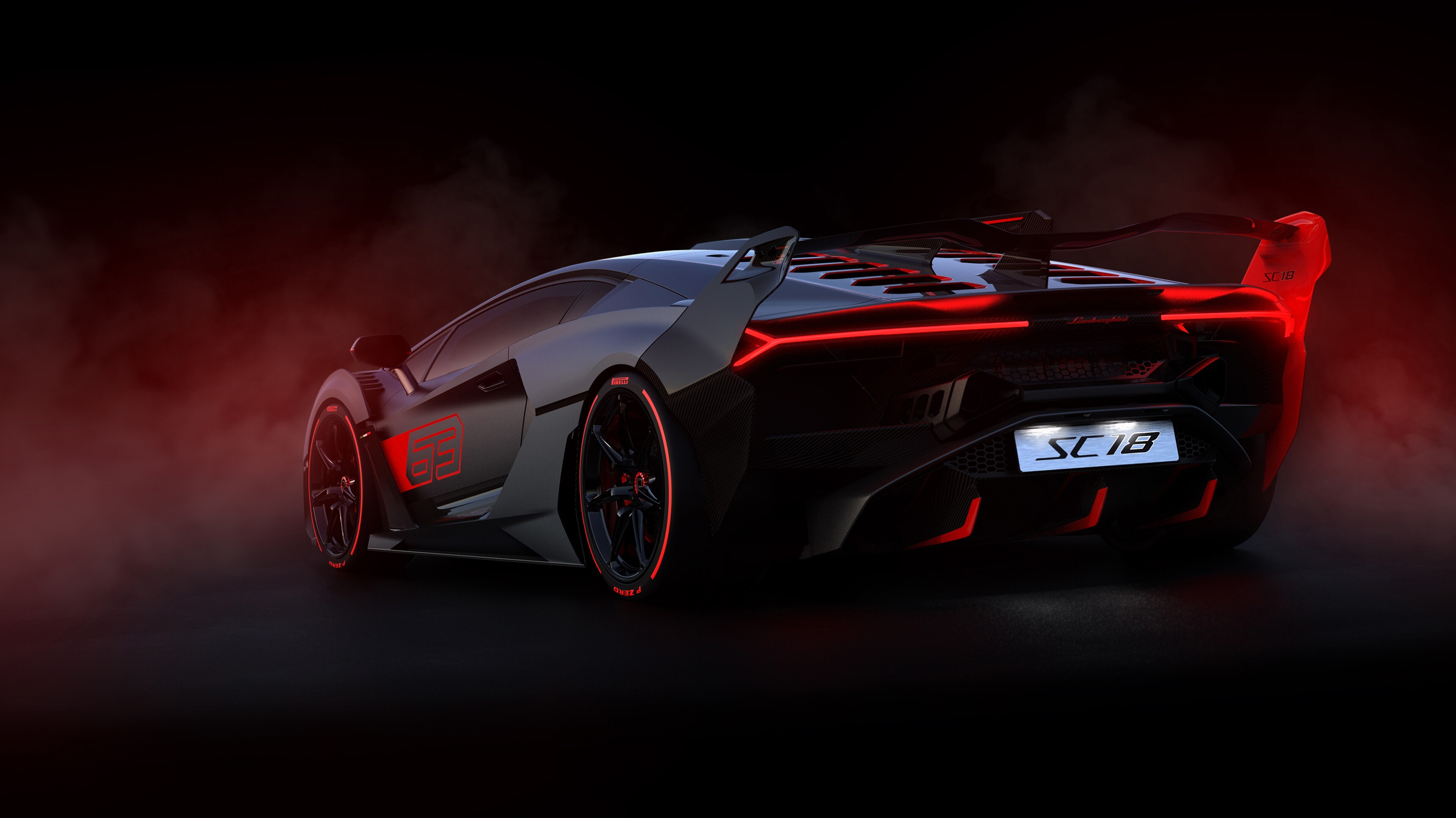 2019 Lamborghini SC18 4K Car Wallpaper