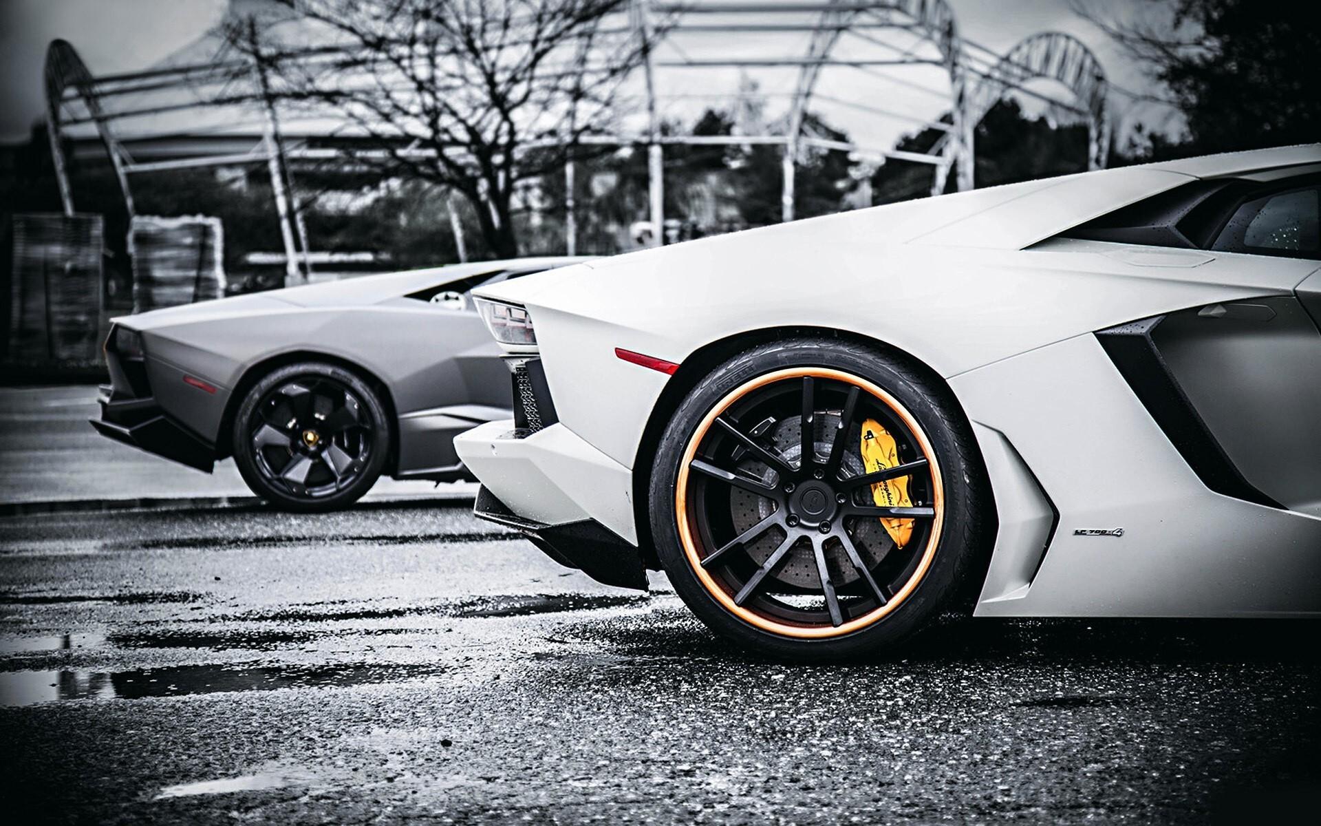 Lamborghini Rear Side View Hd Wallpaper Hd Wallpapers