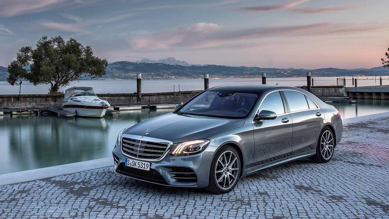 Latest 2018 Mercedes Benz S Class Car Hd Wallpapers