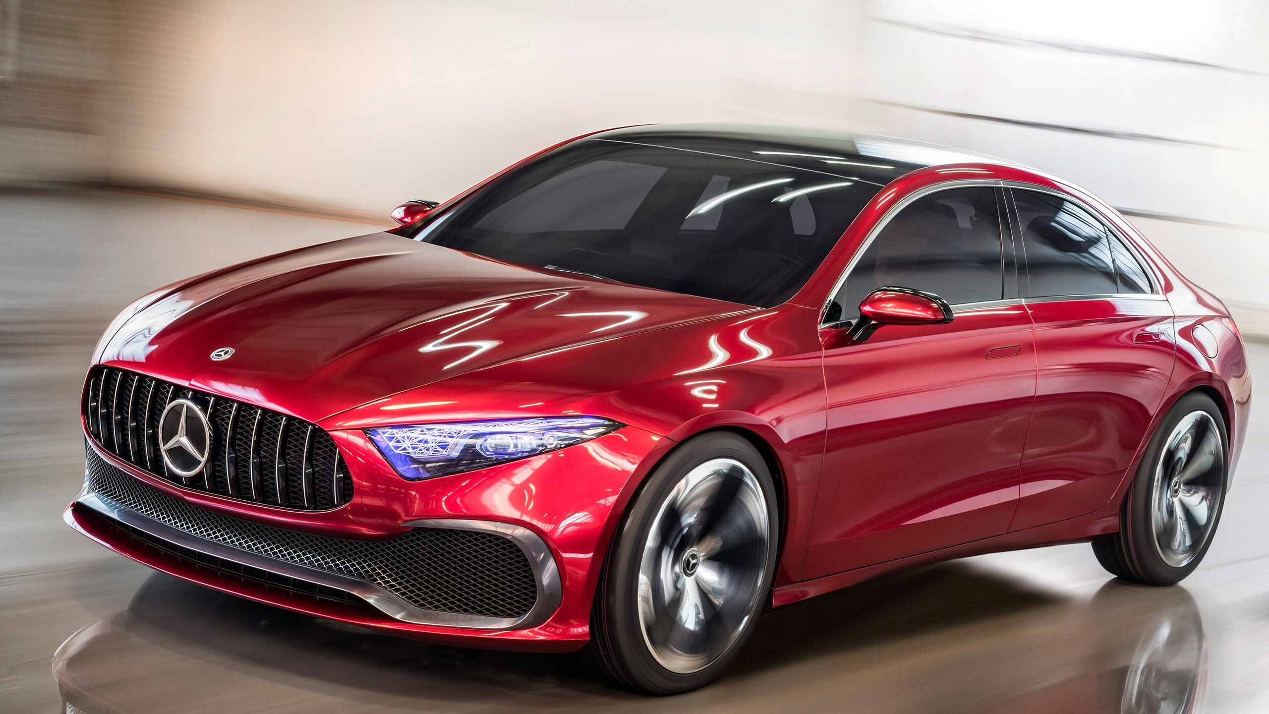 Mercedes Benz A Class Awesome Car   HD Wallpapers