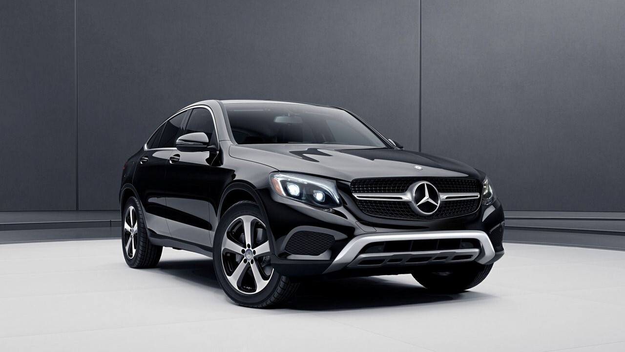 Mercedes Benz Glc Coupe Black Suv Car Hd Wallpapers
