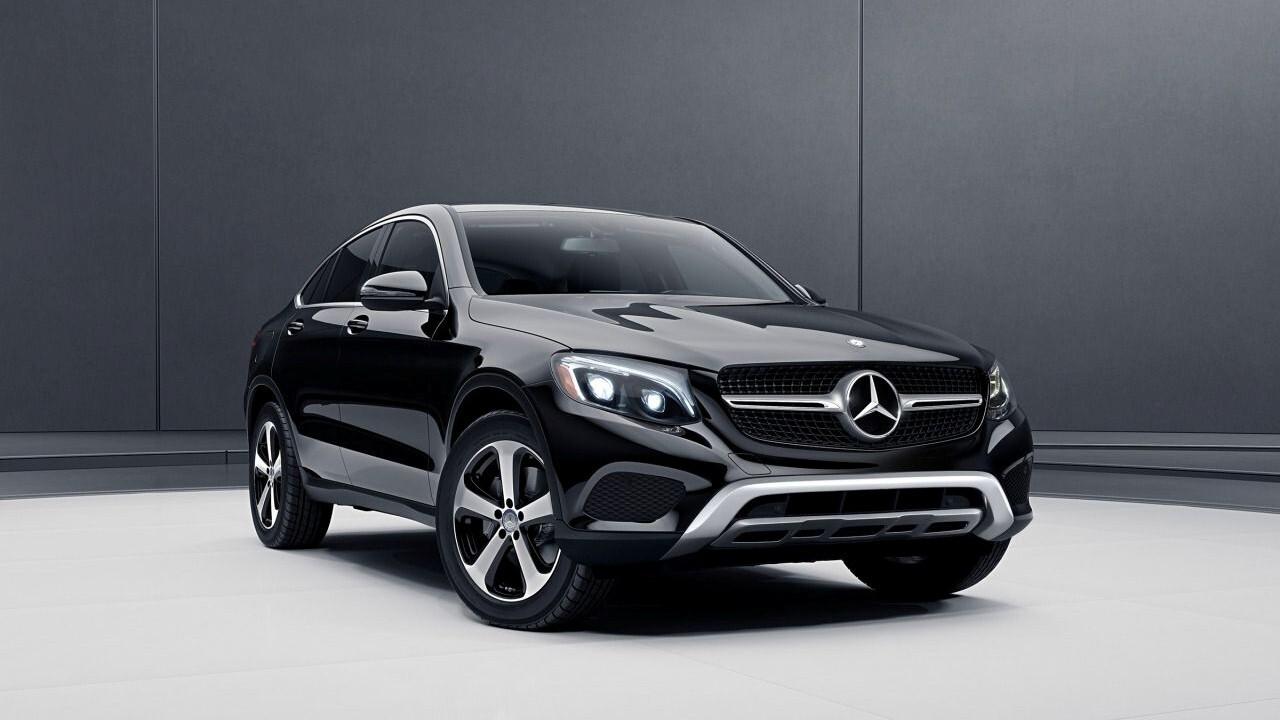 Mercedes benz glc coupe black suv car hd wallpapers for Mercedes benz big car