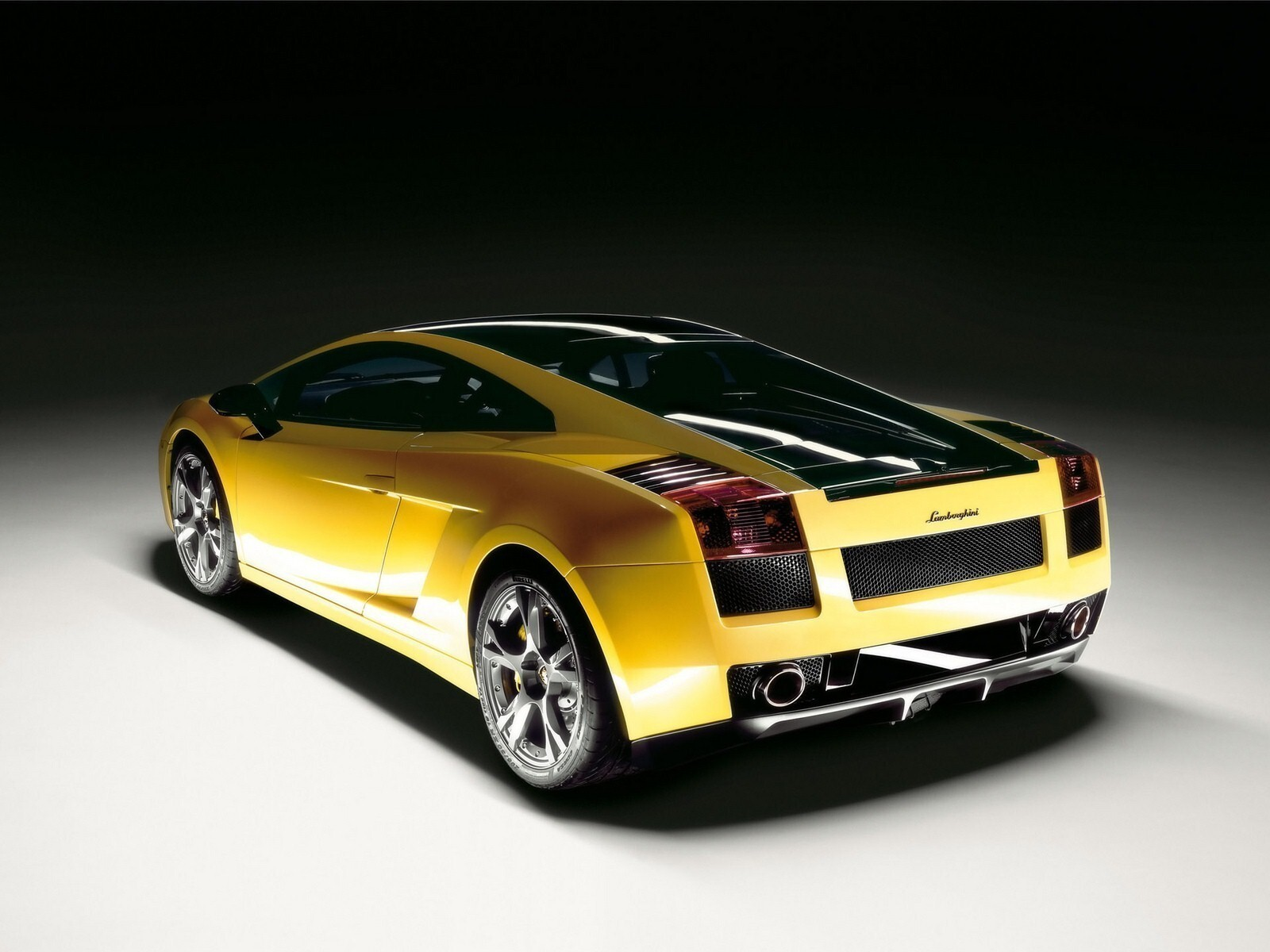 Yellow Lamborghi...Yellow Lamborghini Gallardo Wallpaper