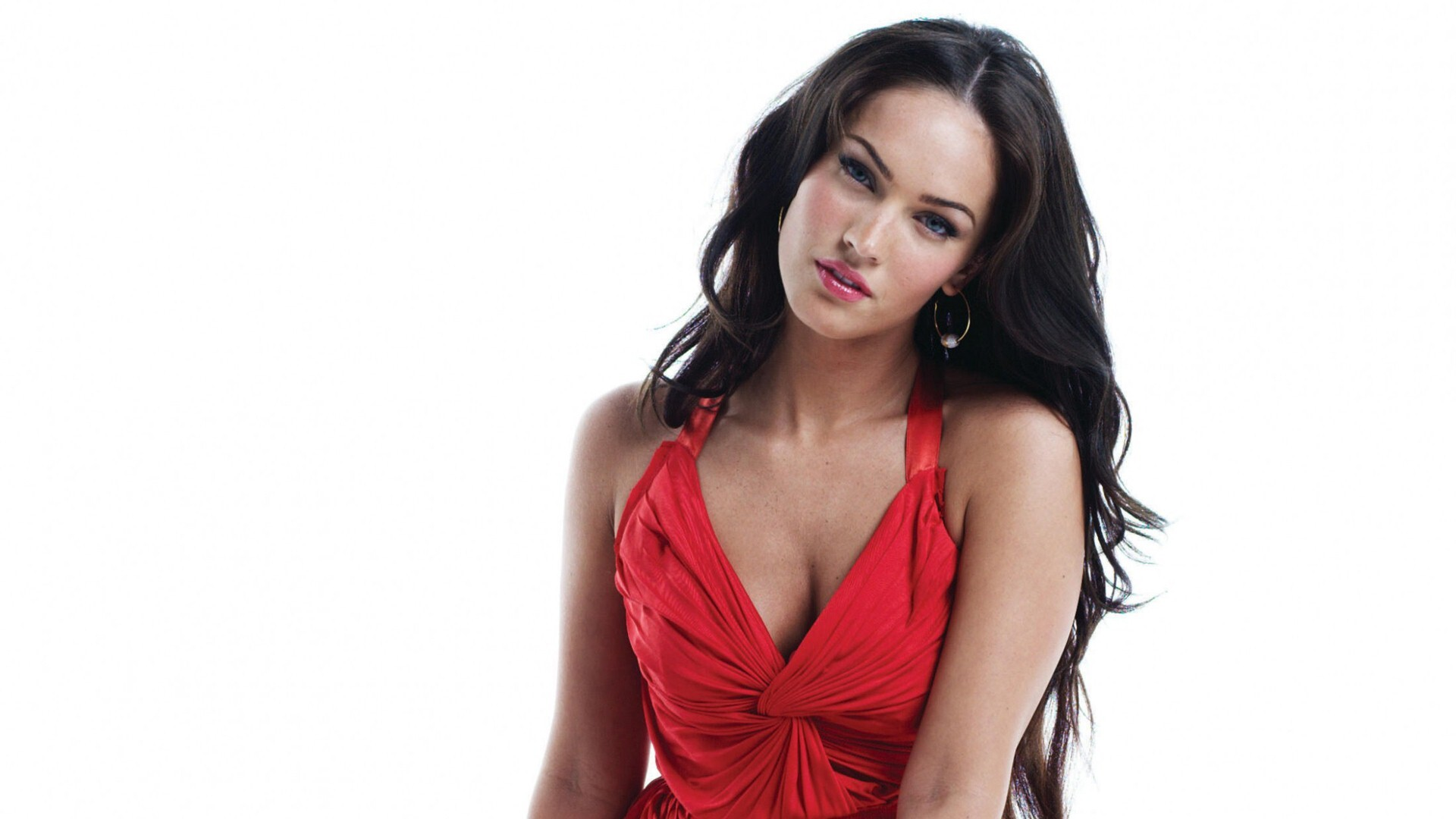 Megan Fox in Red Dress HD Wallpapers | HD Wallpapers
