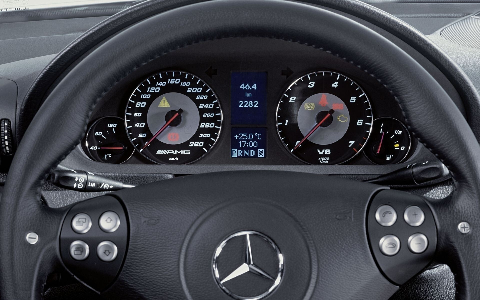 Mercedes Benz C 55 Amg Interior Wallpapers Hd Wallpapers