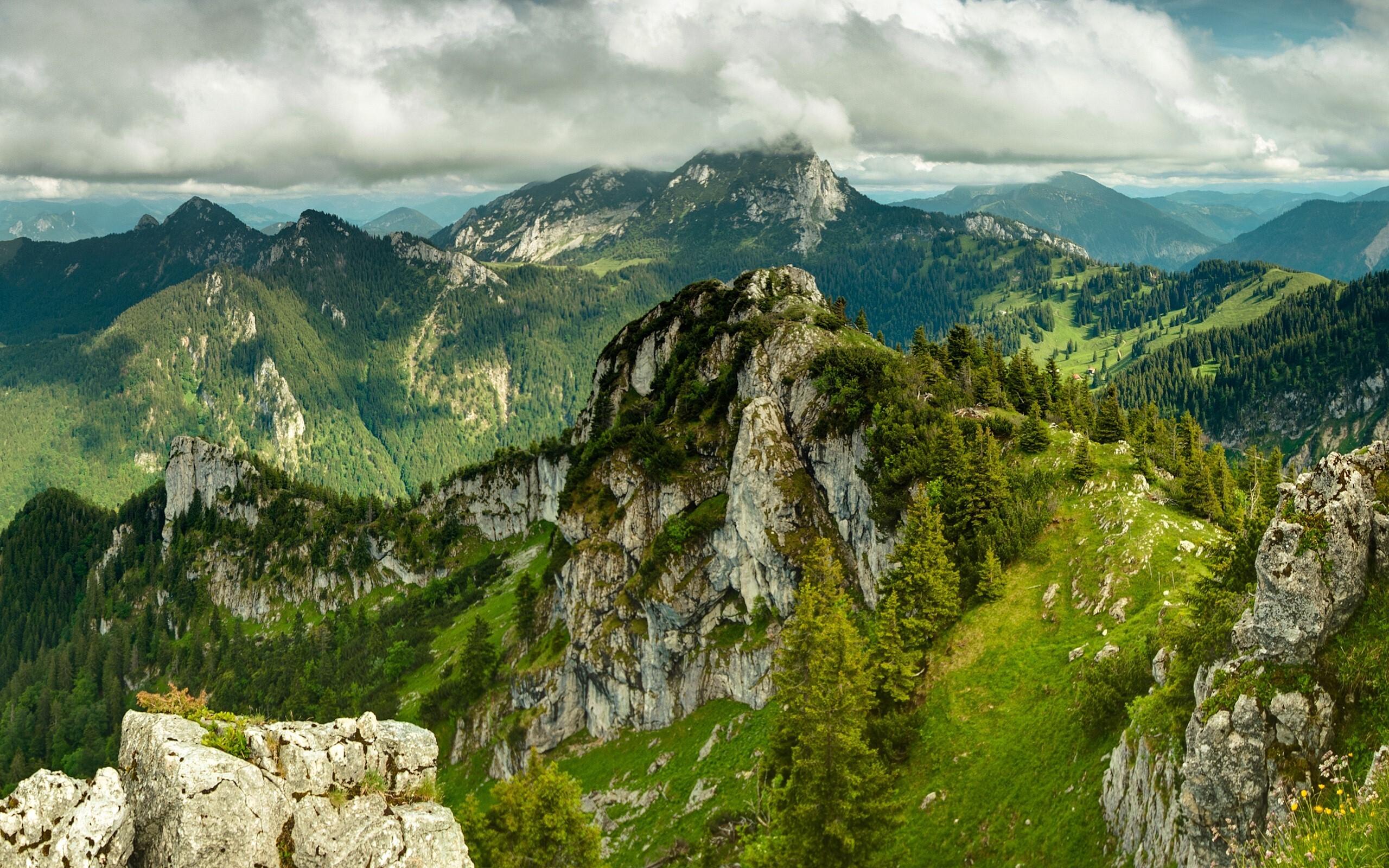 Beautiful Green Mountain Nature Photo Background Hd Wallpapers
