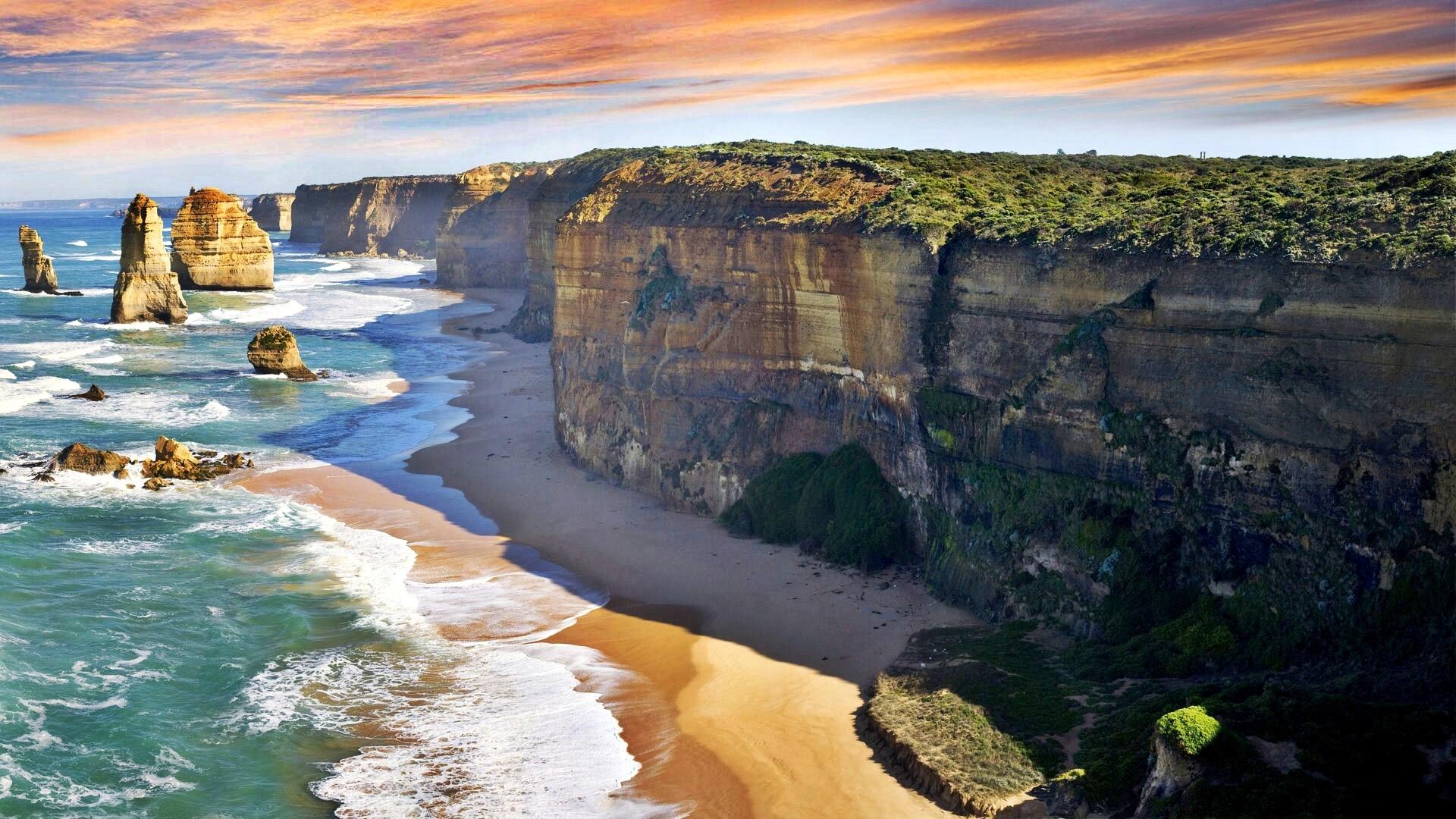 The Twelve Apostles Nature View In Victoria Australia