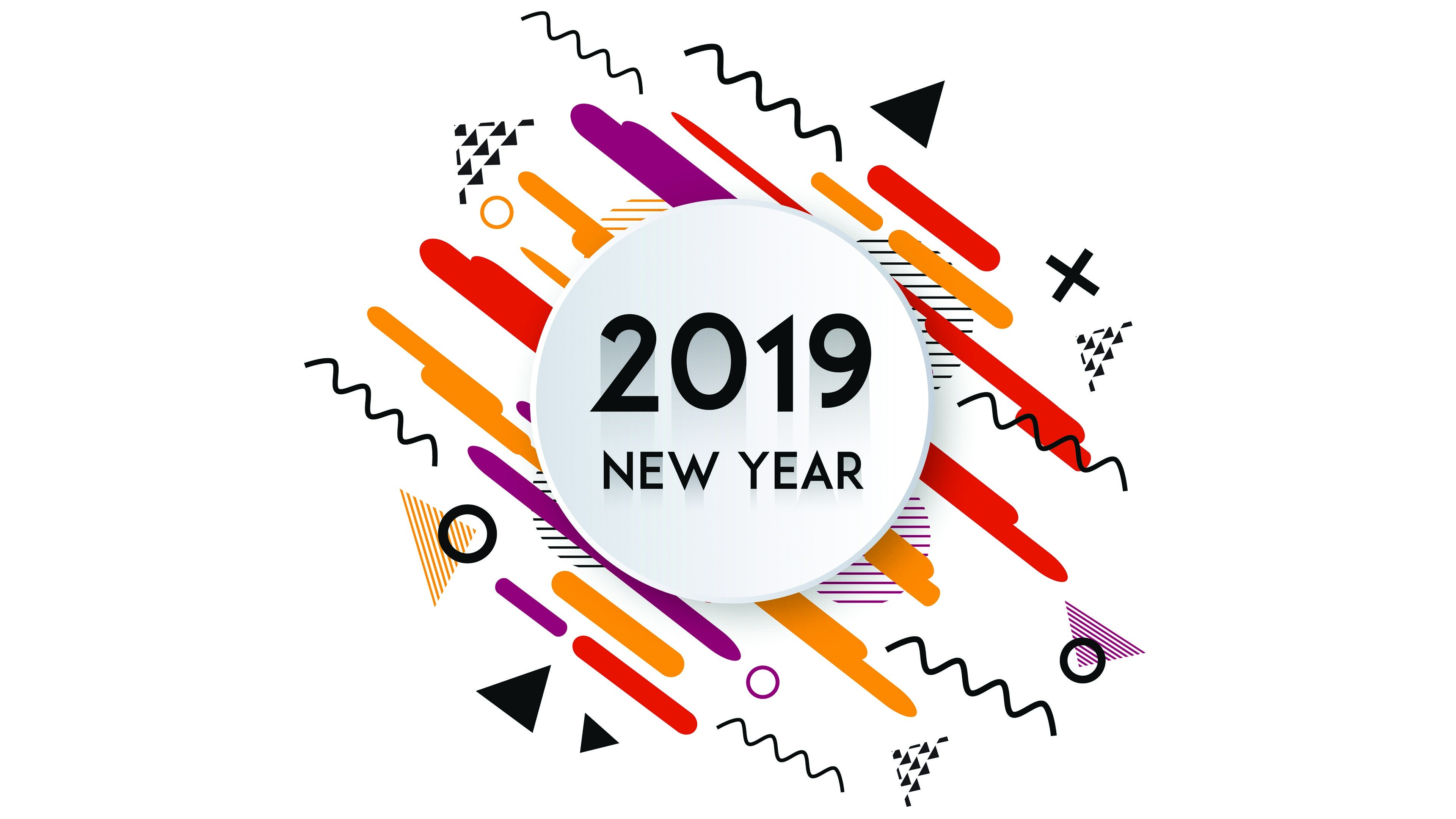 2019 New Year 4K Wallpapers | HD Wallpapers