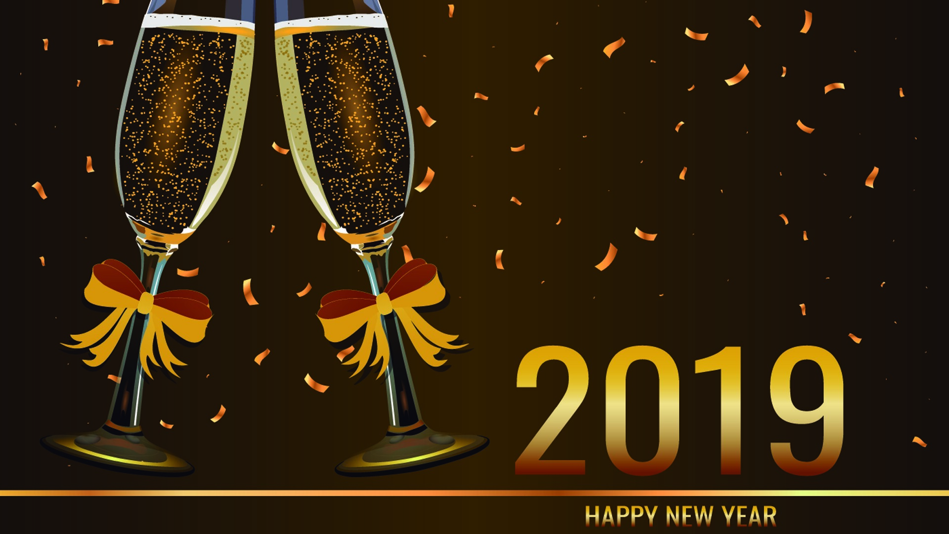 HD Images of 2019 New Year Holiday  HD Wallpapers