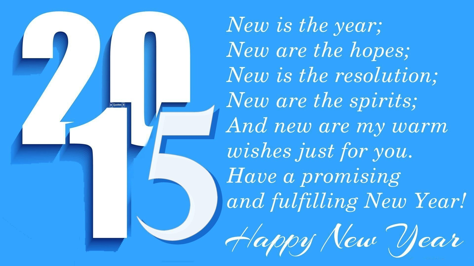 Happy New Year 2015 Quotes Greeting Hd Wallpaper Hd Wallpapers