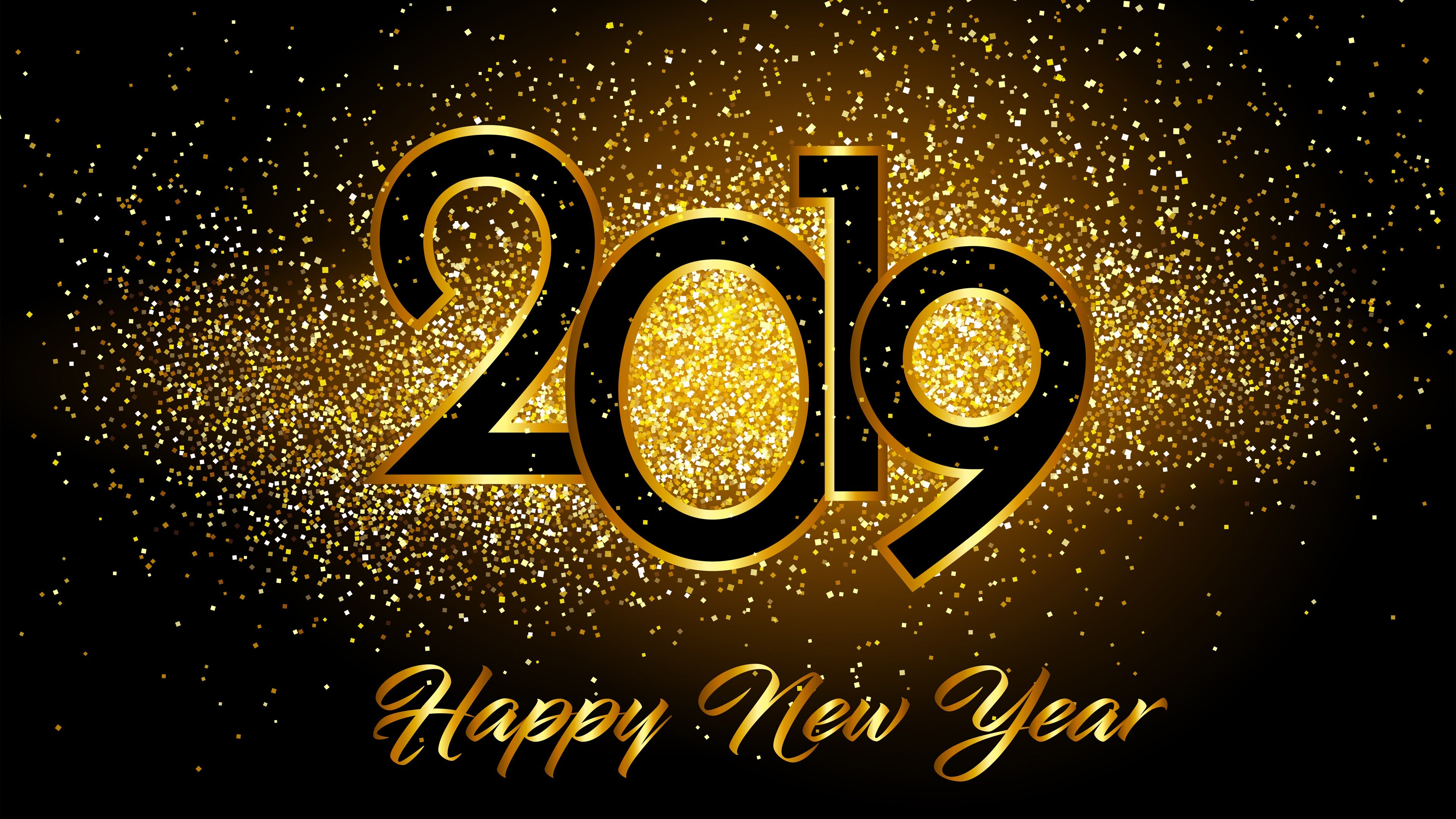 Happy New Year 2019 4K Images | HD Wallpapers