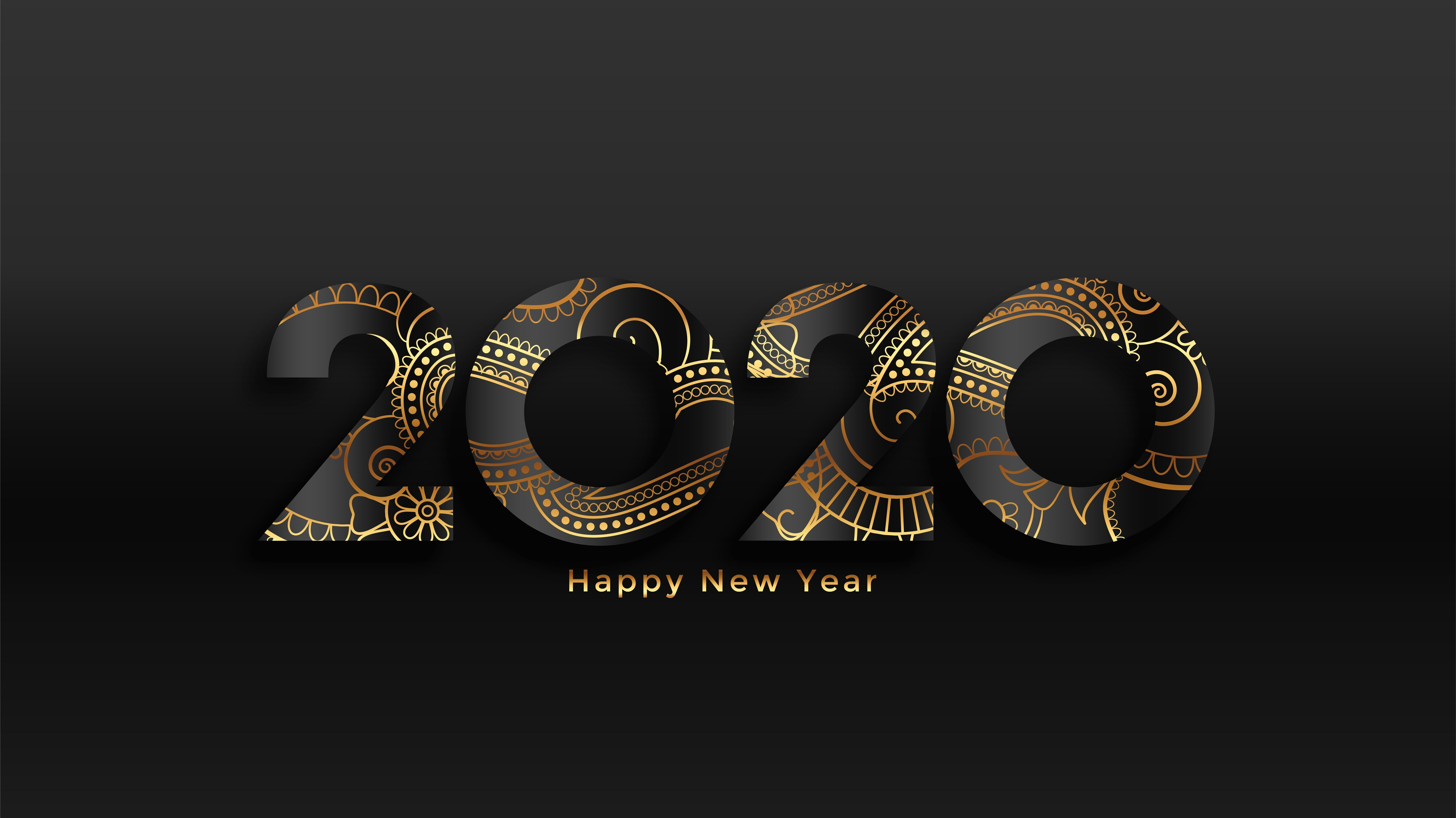 New Year 2020 5K New Wallpaper | HD Wallpapers