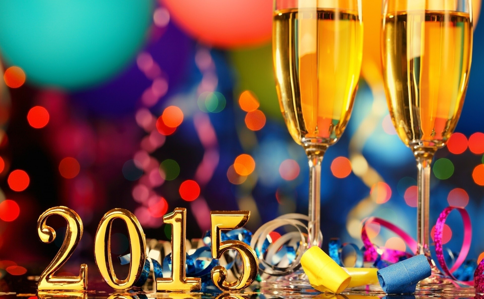 new year party wallpaper with party bear glasses hd wallpapers