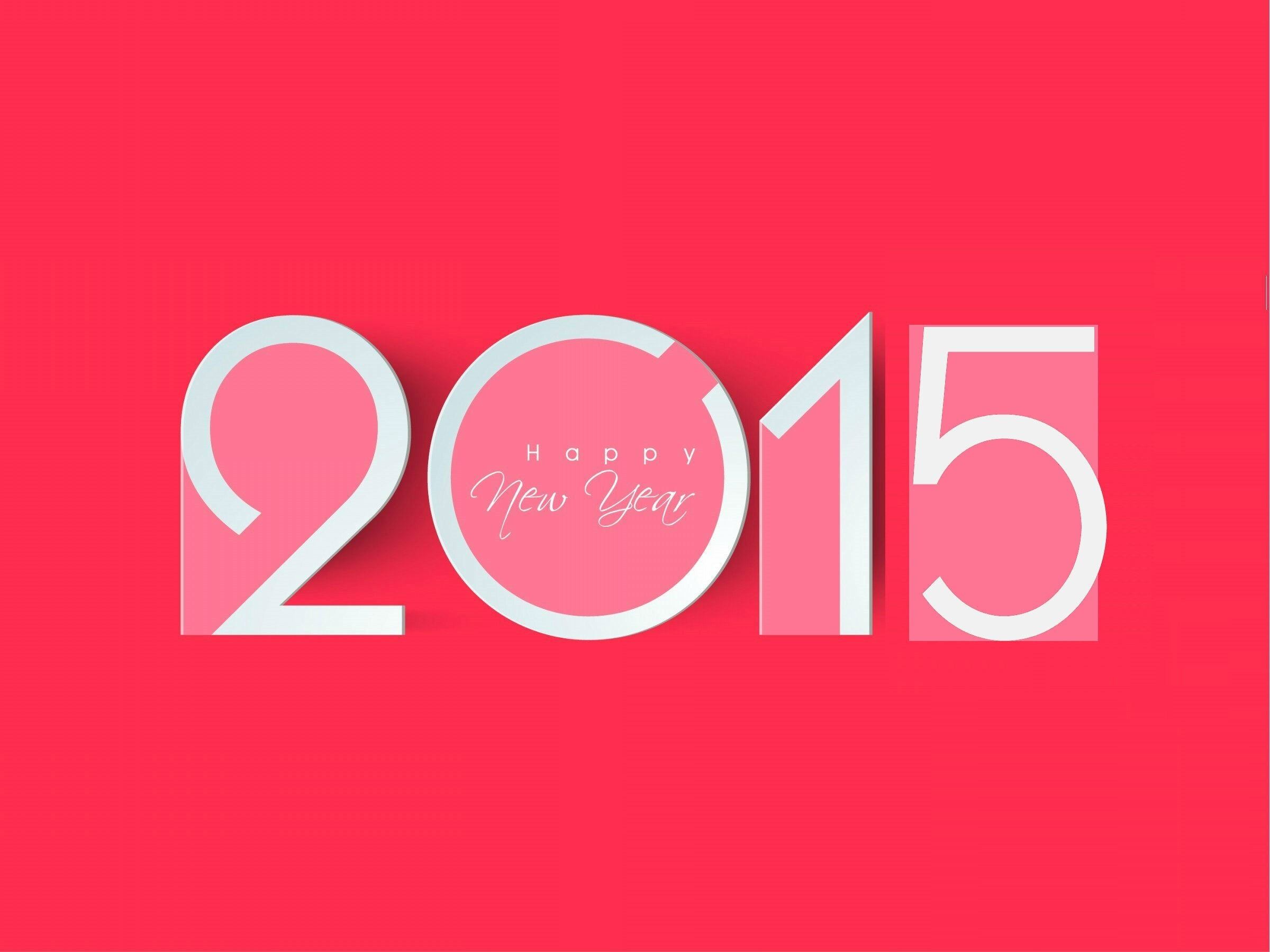 popular happy new year 2015 in pink color background hd wallpaper hd wallpapers
