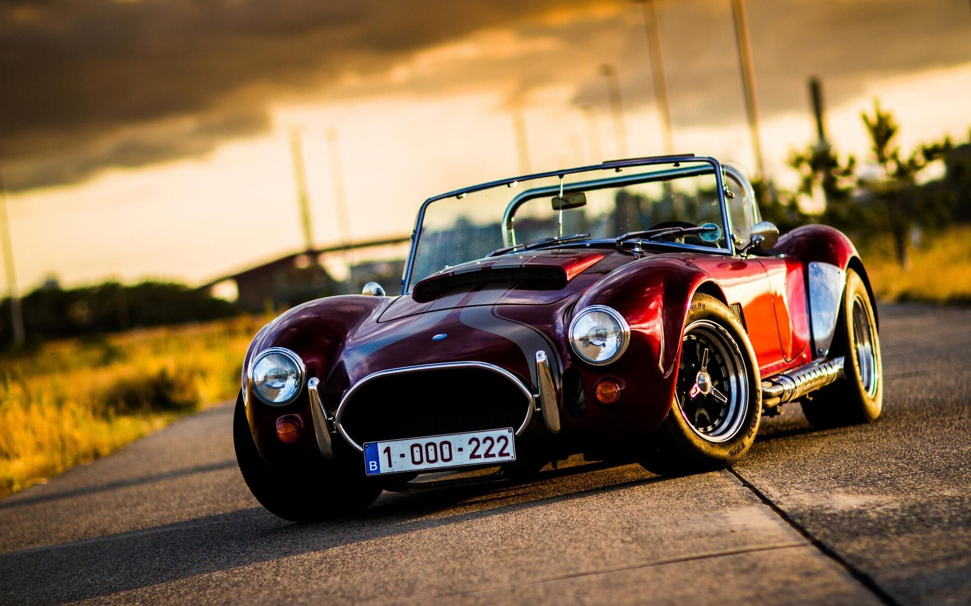 AC Cobra Vantage Wide Car Wallpaper