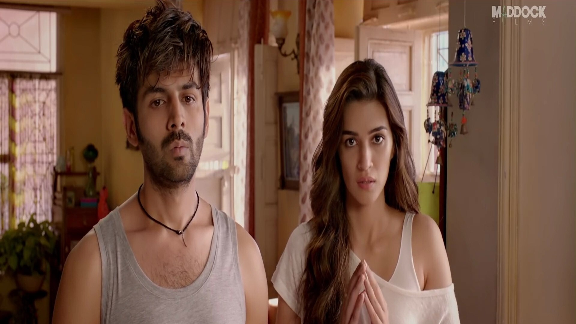 2019 Film Luka Chuppi Star Kriti Sanon With Kartik Aaryan Hd